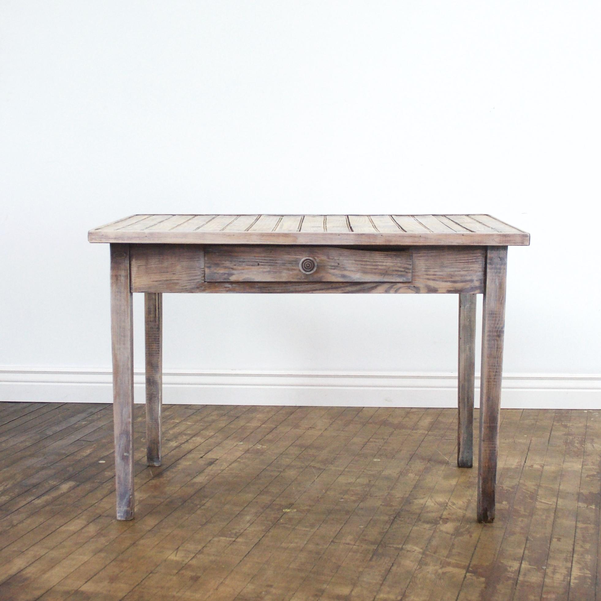 "Sarah Sweetheart Table    $60    43"" w, 27""d, 30"" h"