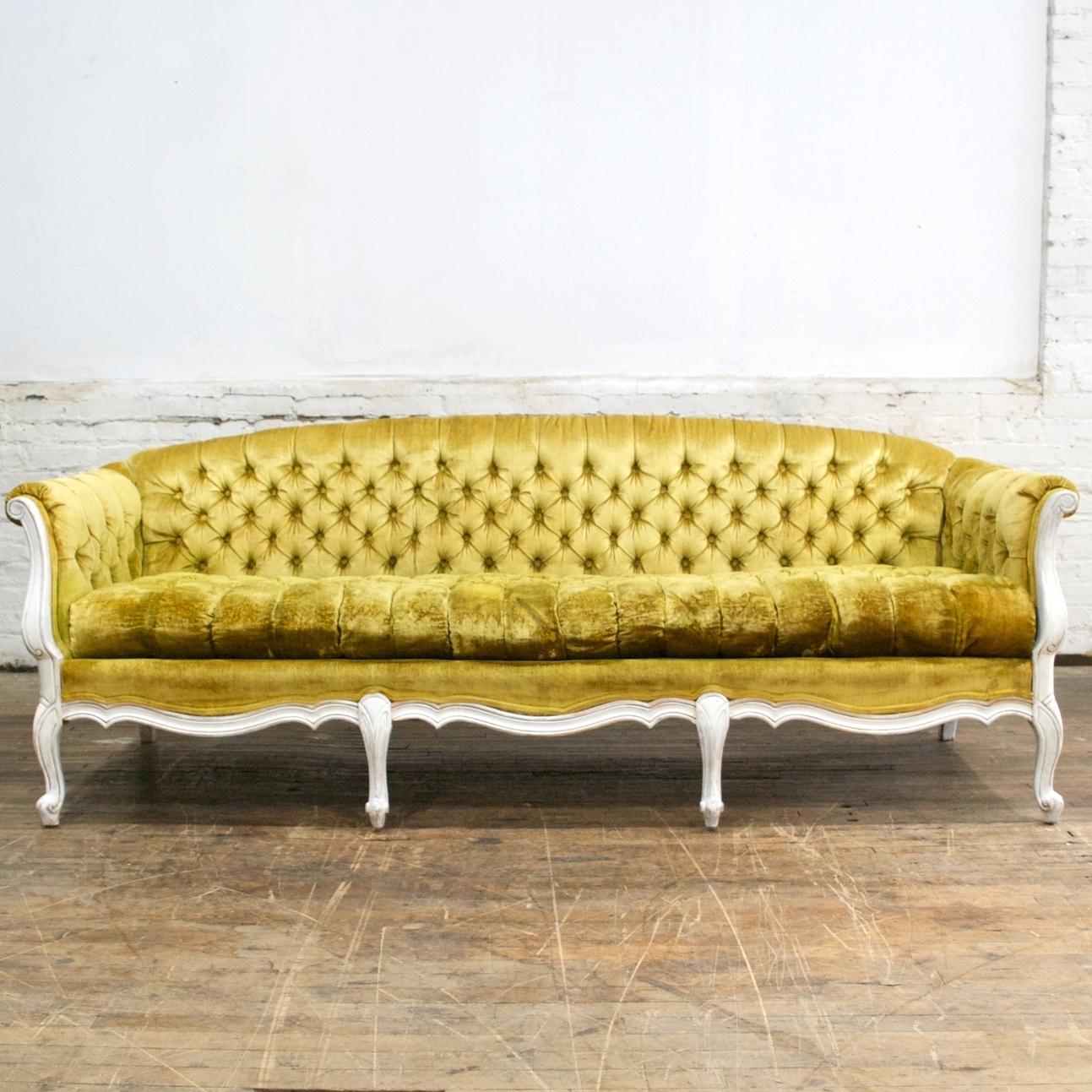"""Margo sofa    $210    7' w, 33"""" d, 29"""" h"""