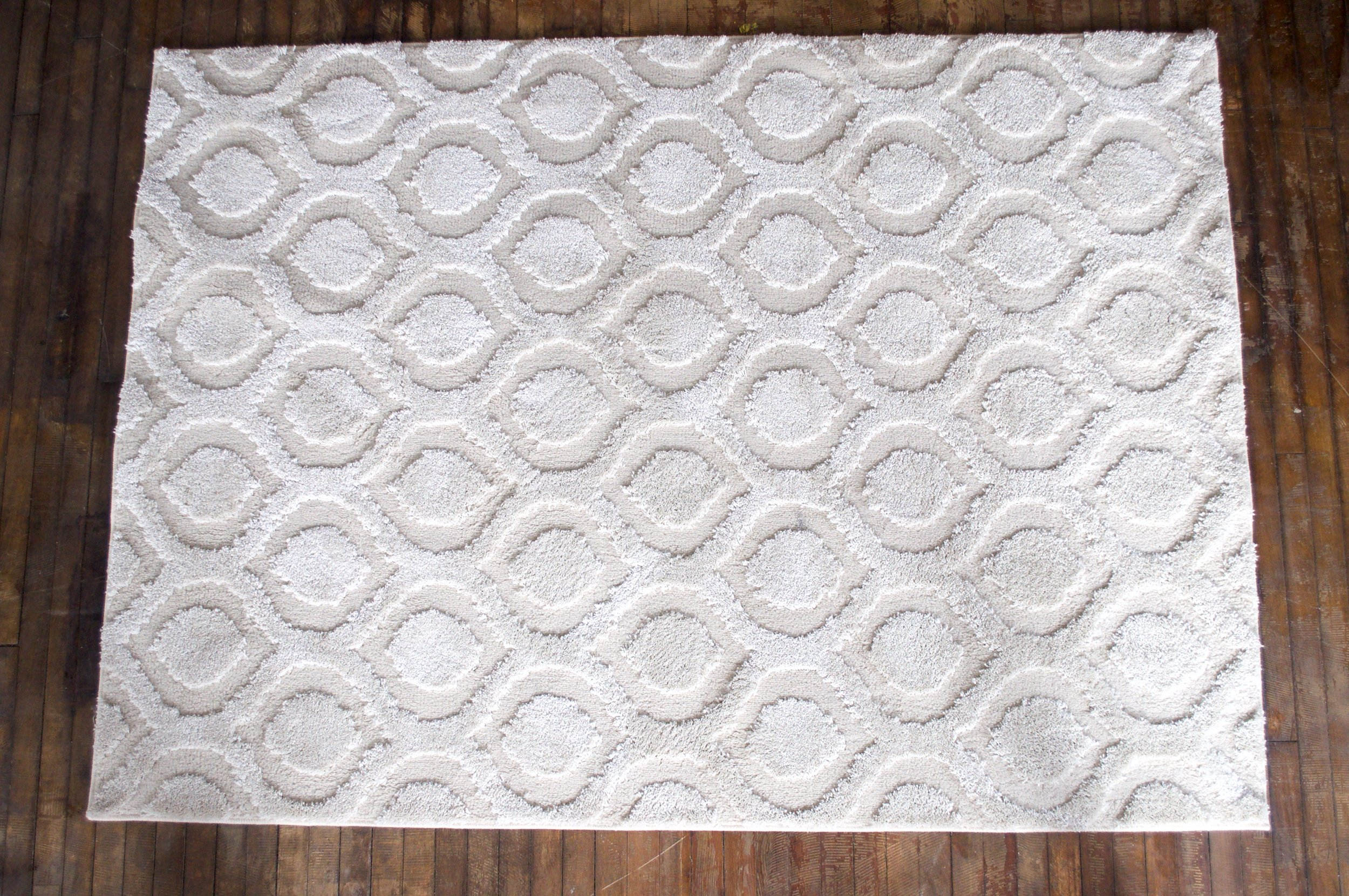 Moroccan Cream Rug (4x8) or (5 x8) $48