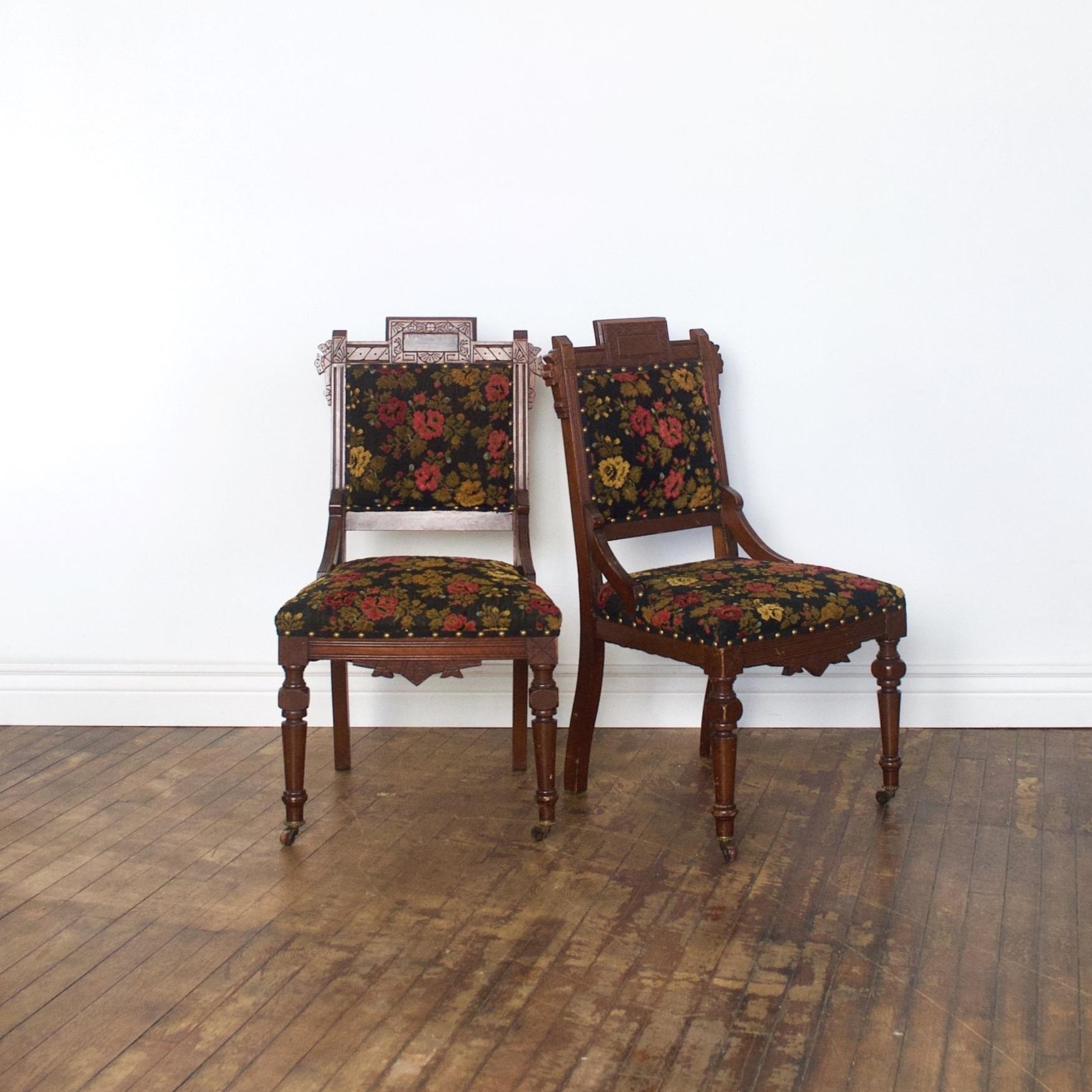 """Frances Chair    $144 pair    1'7""""w 1'5""""d 2'11""""h"""
