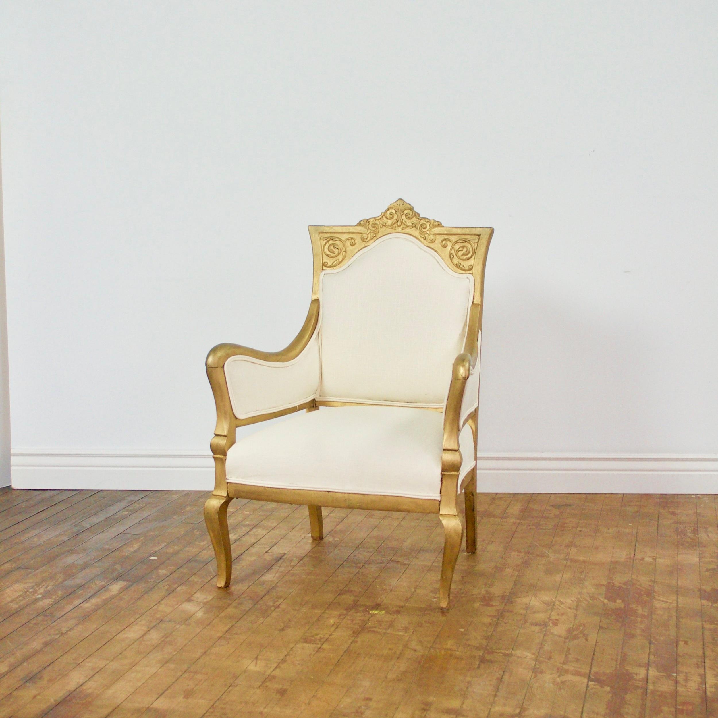 "Leonardo Arm Chair    $72    25"" w, 20""d, 38""h"