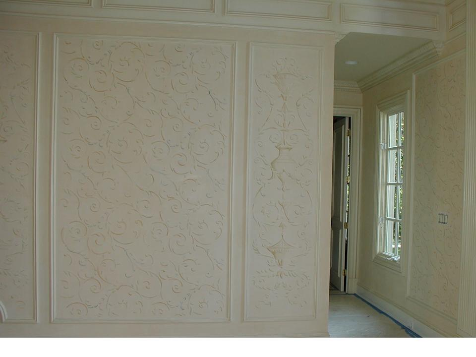 created & custom hand painted and designed for Mark Fowler Studios over plaster finish.jpg