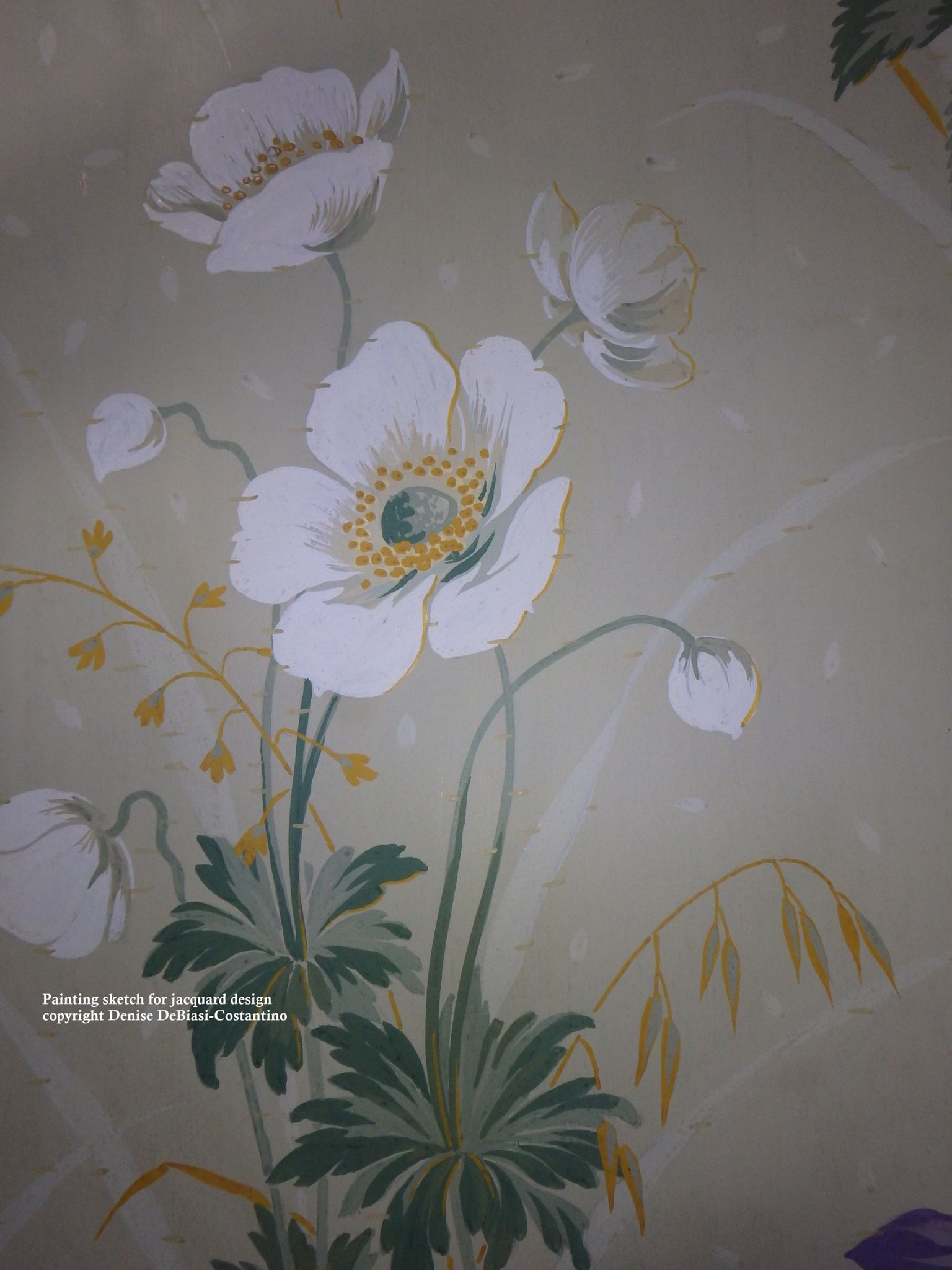 floral designs jacquard and prints surface designs