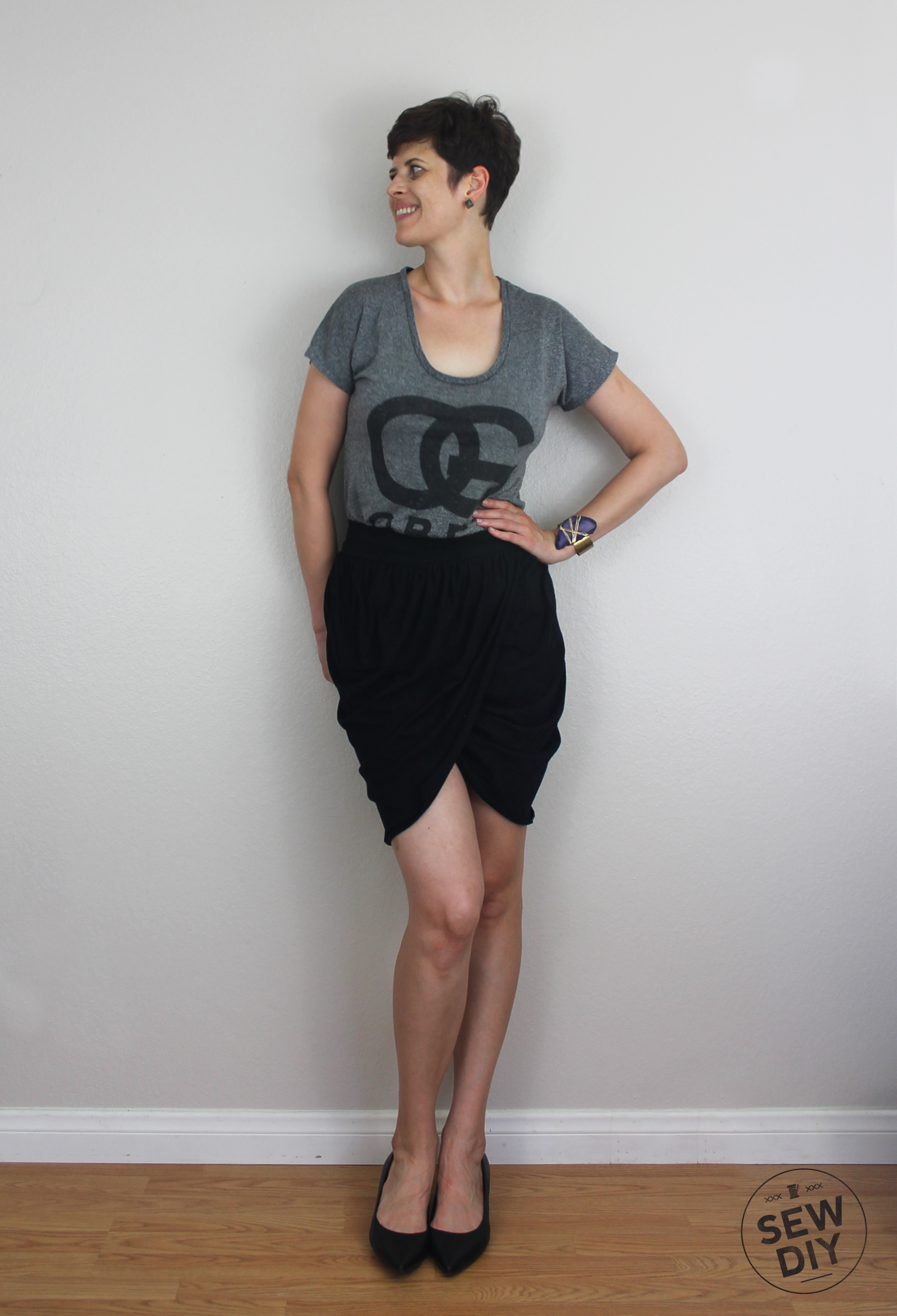 Drape Drape 2 Skirt No 5 Sew Diy
