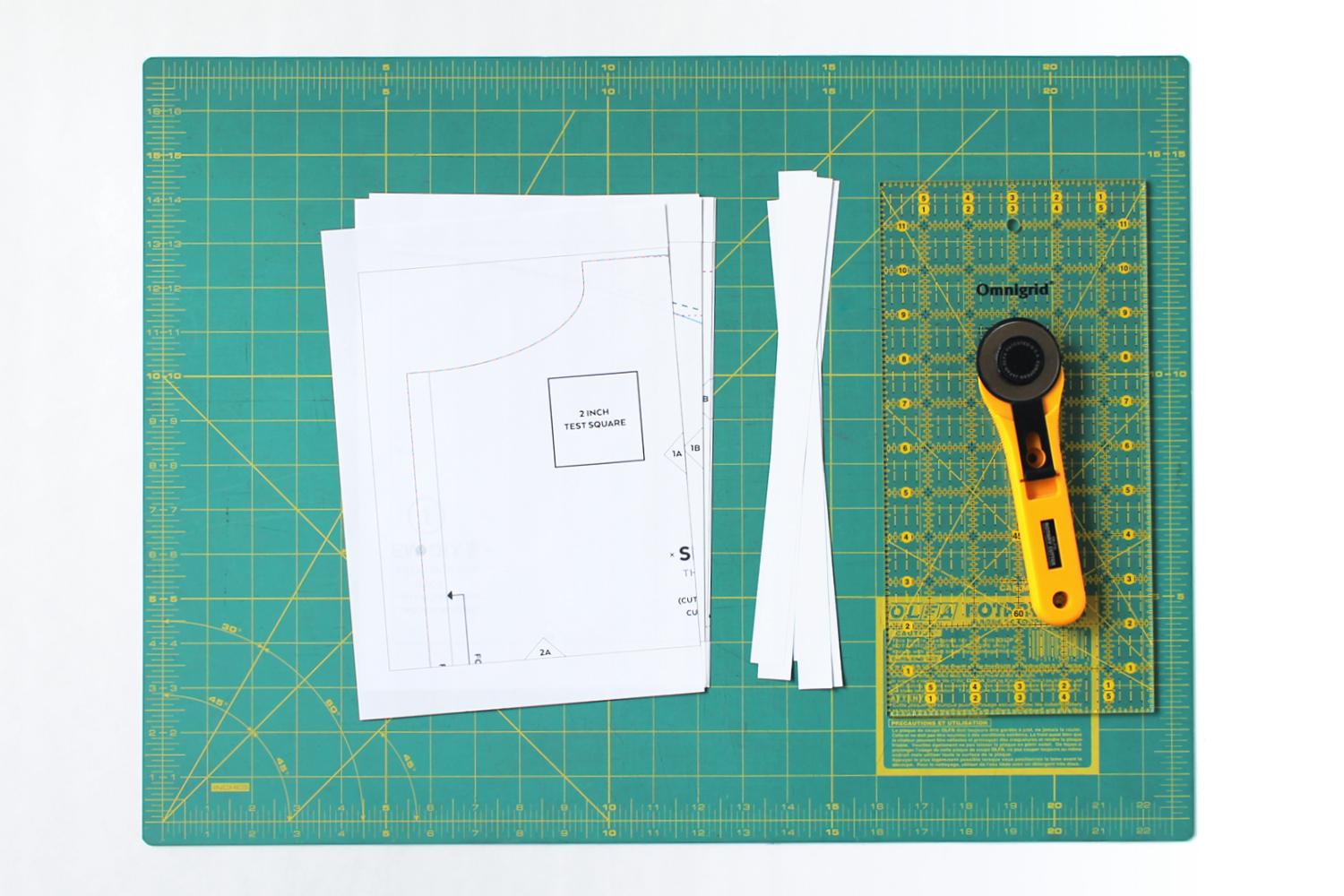 Easy step by step photo tutorial for preparing pdf sewing patterns – Sew DIY