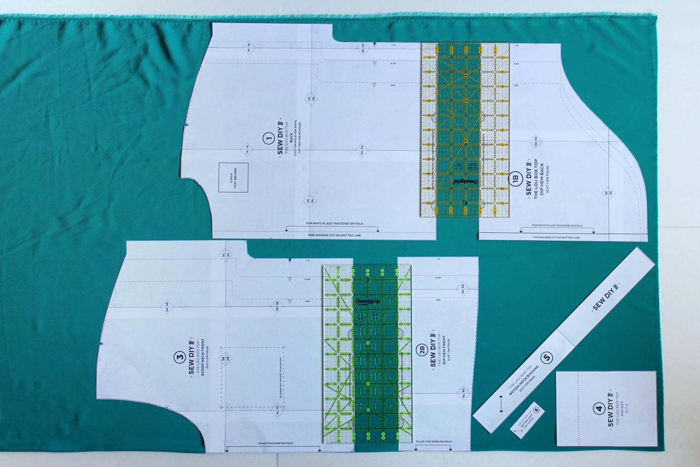 Lou Box Top Sewalong Part 3 Cutting your fabric