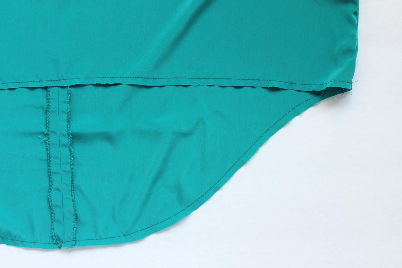 Lou Box Top Sewalong Part 6 Stitching the Hem –Sew DIY