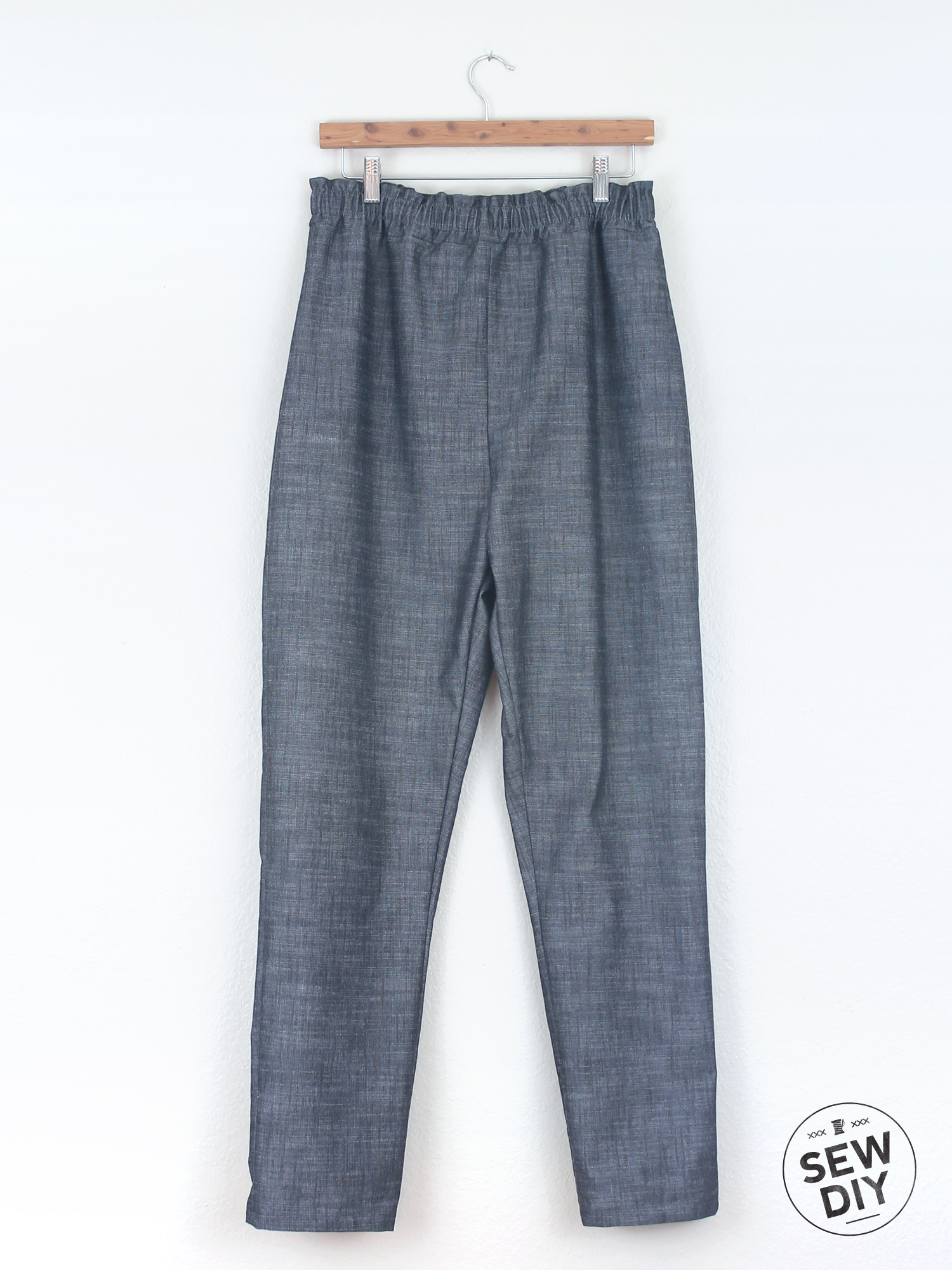 DIY High Waisted Pants – Sew DIY
