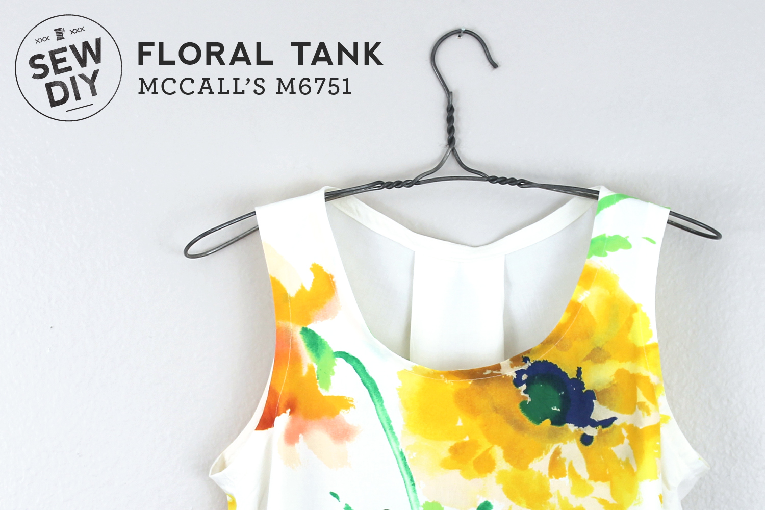 Floral Tank McCall's M6751 – Sew DIY