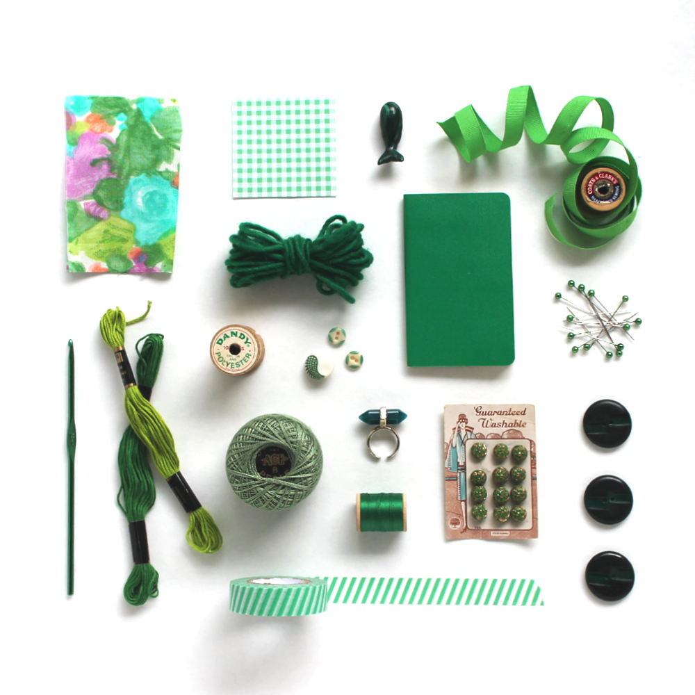 Tips for creating better flatlay photos –Sew DIY