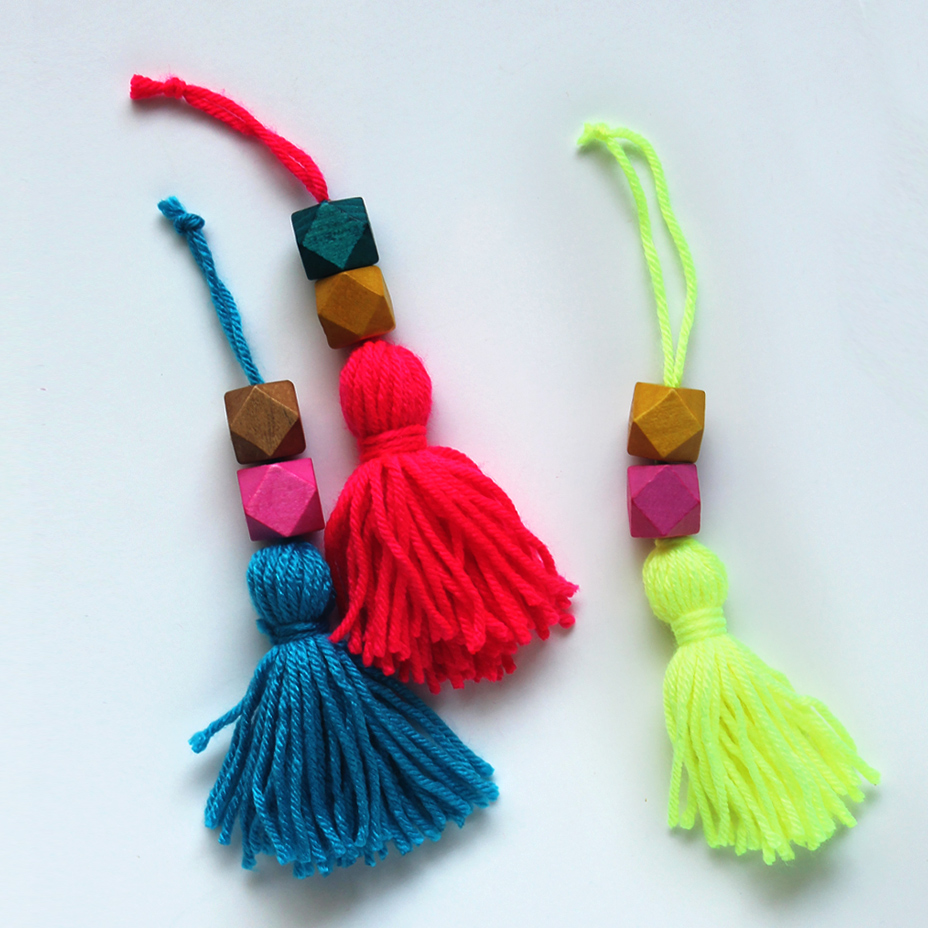 Beaded Tassel Ornaments