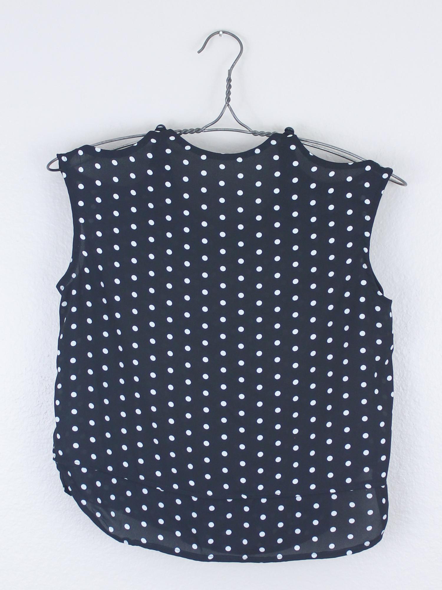 DIY Polka Dot Peplum Top – Sew DIY