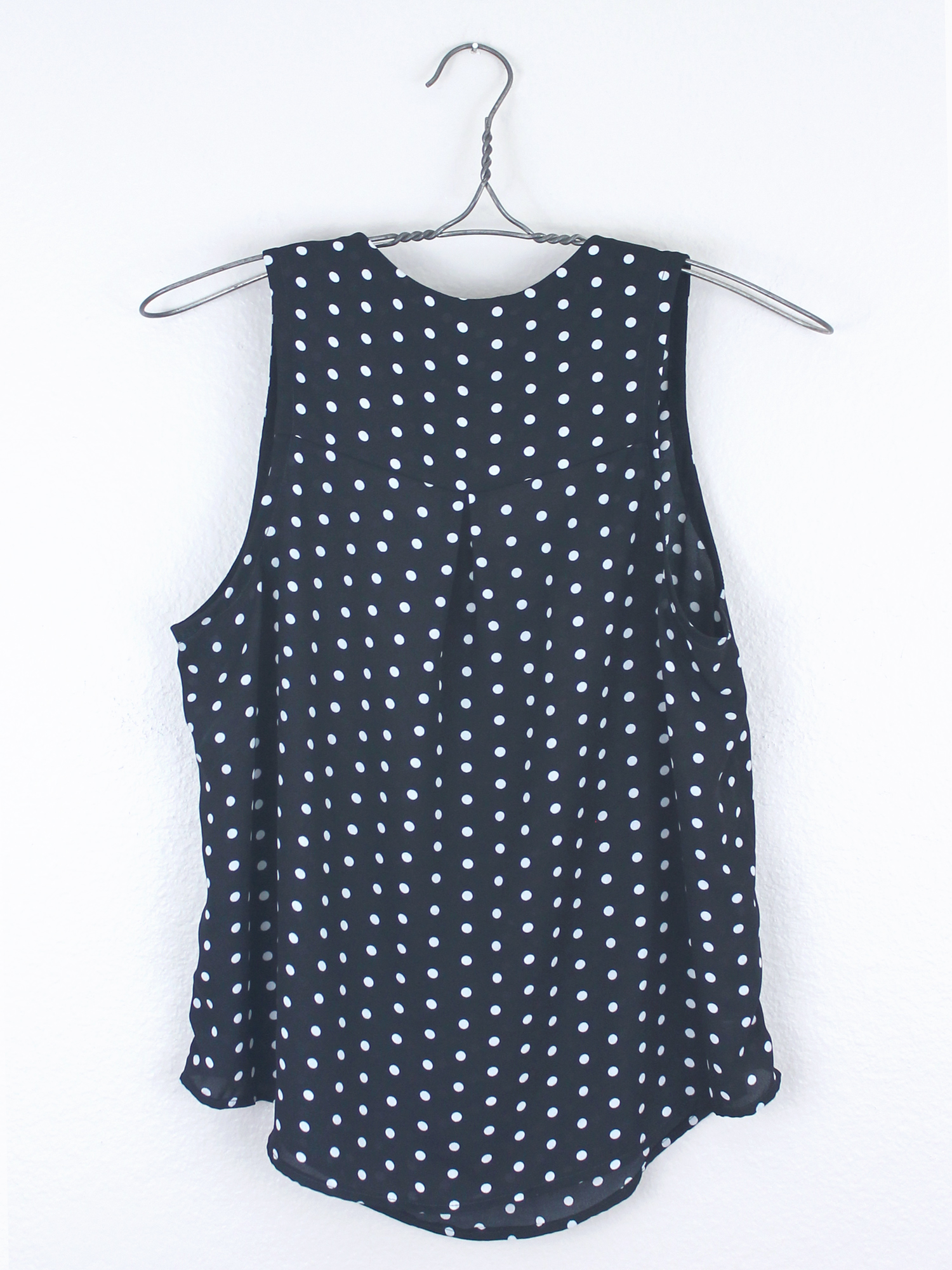 DIY Polka Dot Tank   Sew DIY