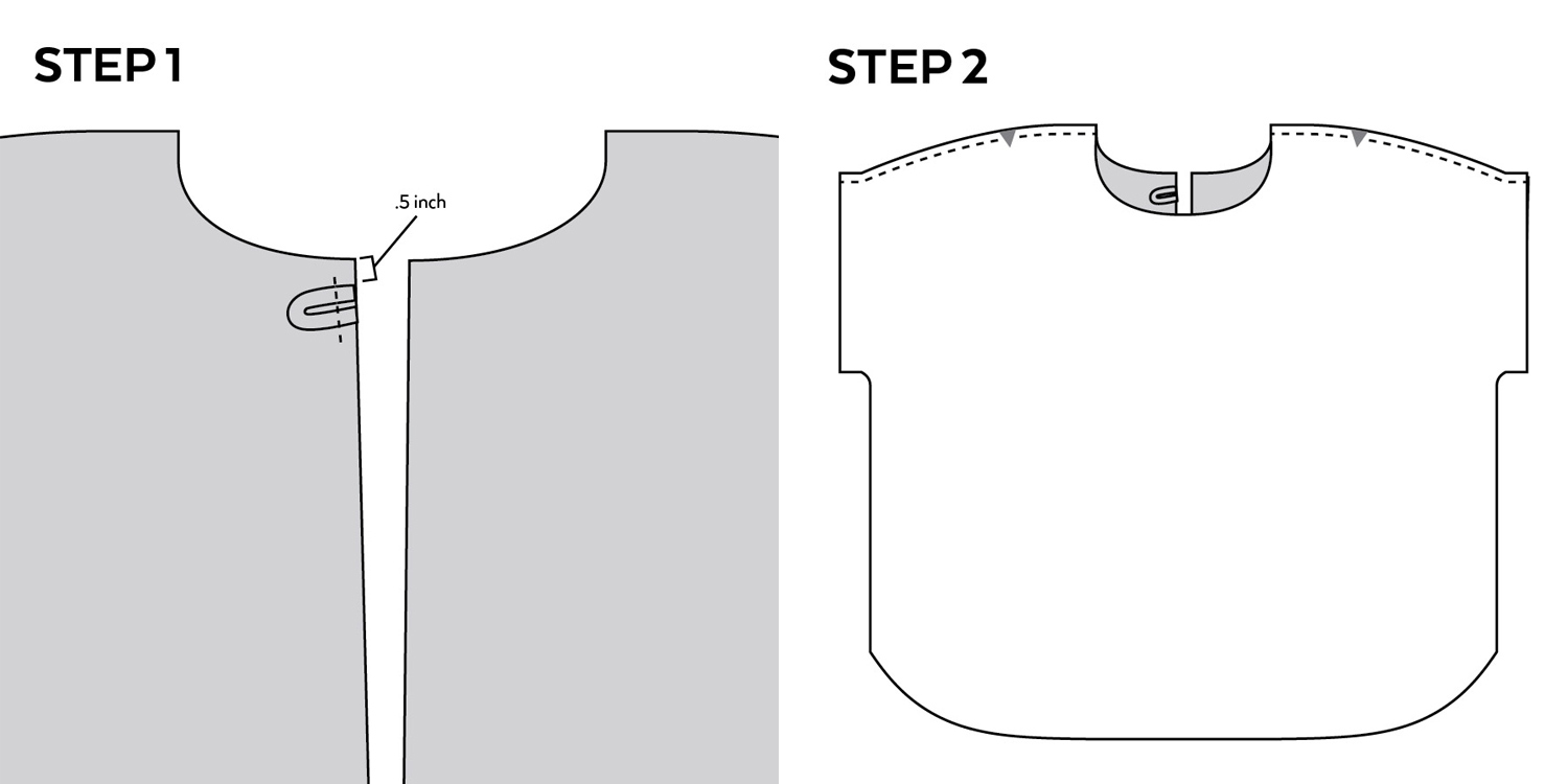 How to add a lining to a top | Sew DIY