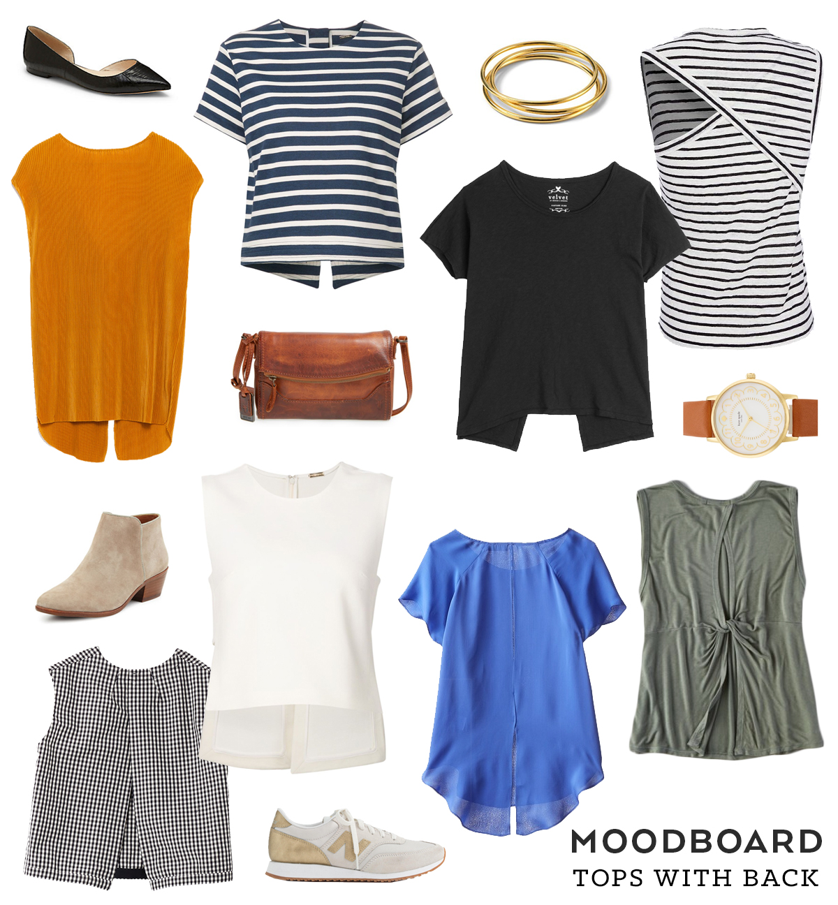 Moodboard – Tops With Back | Sew DIY