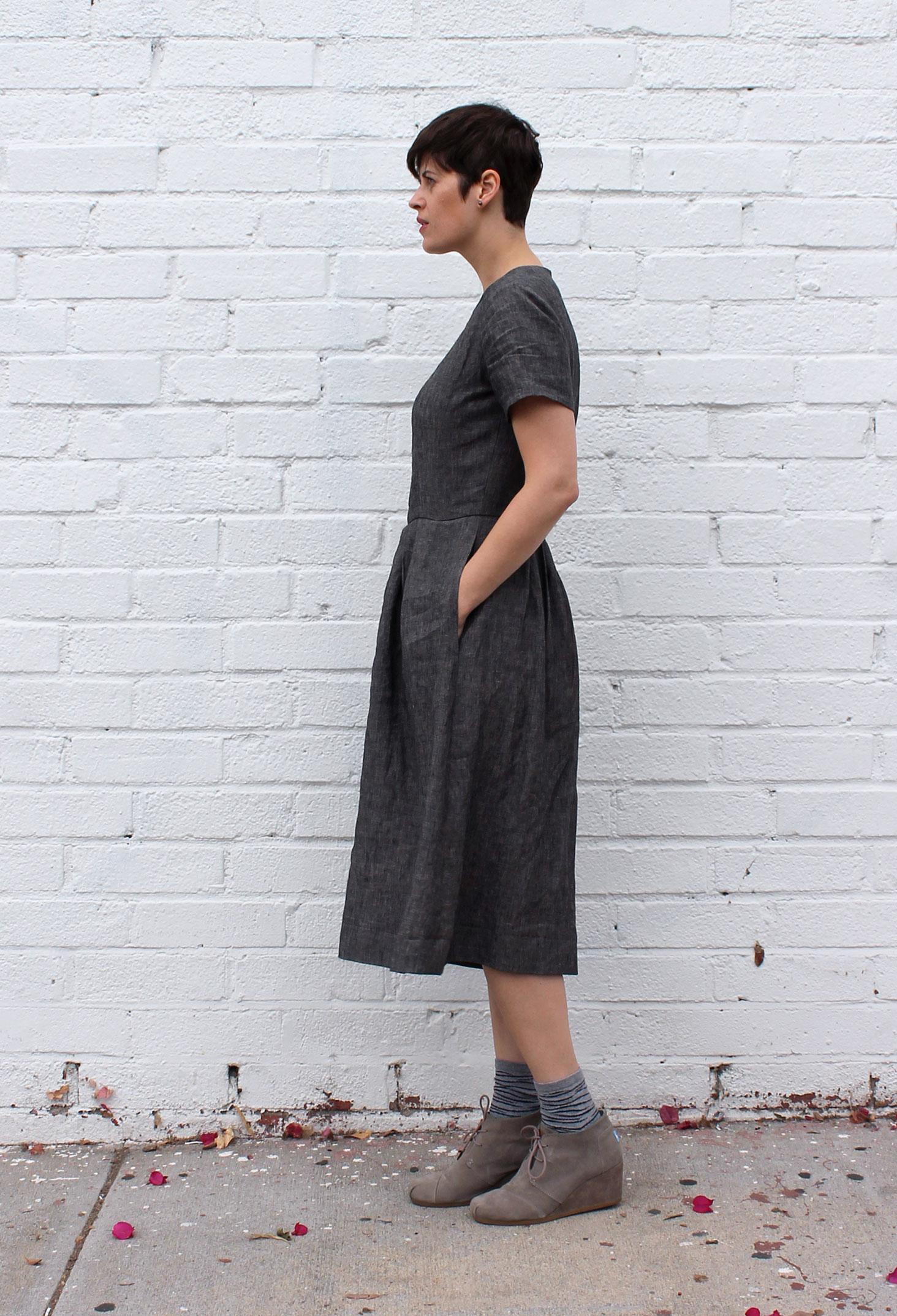DIY Linen Jumpsuit Vogue V9075 | Sew DIY