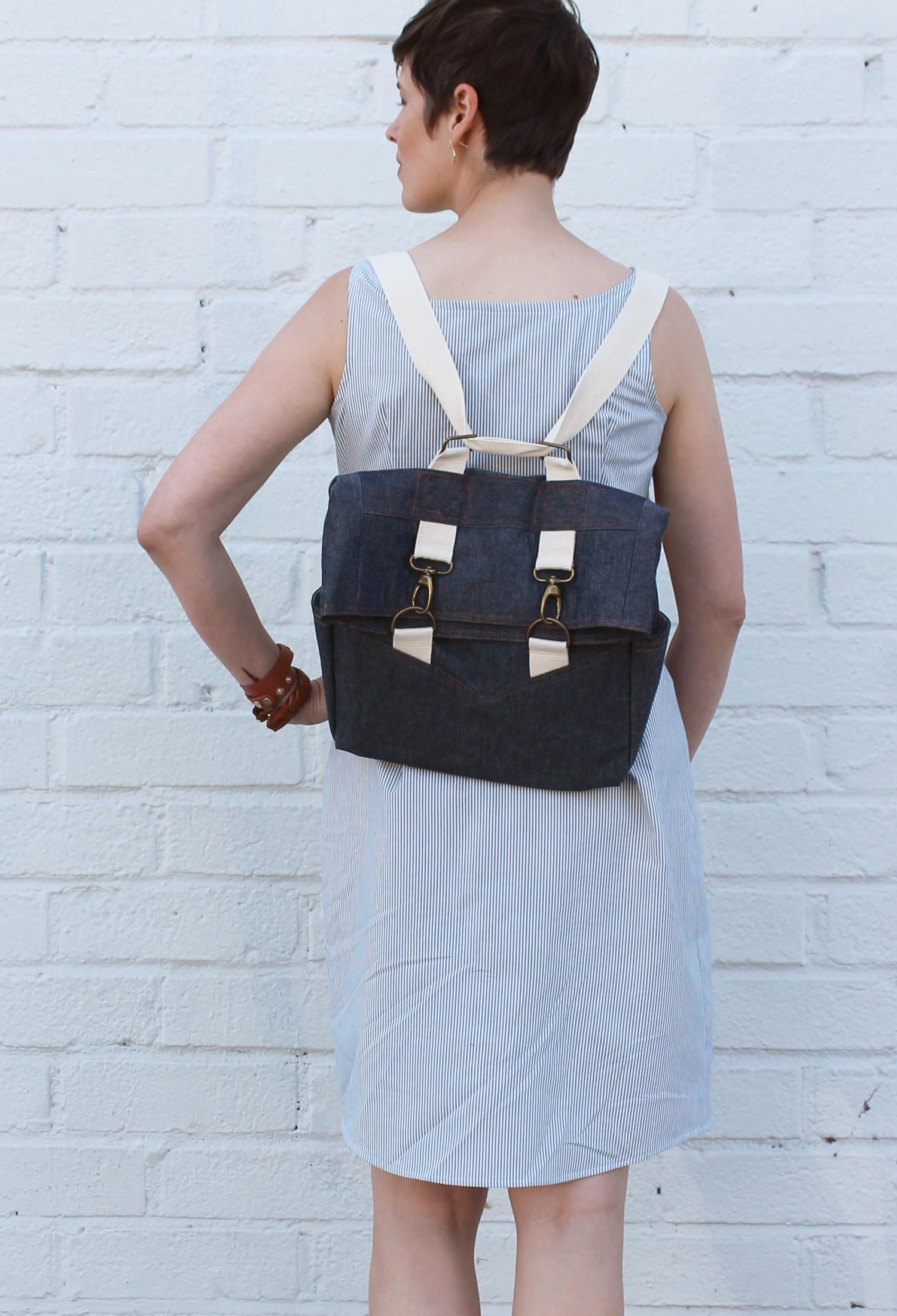 DIY Denim Retro Rucksack | Sew DIY