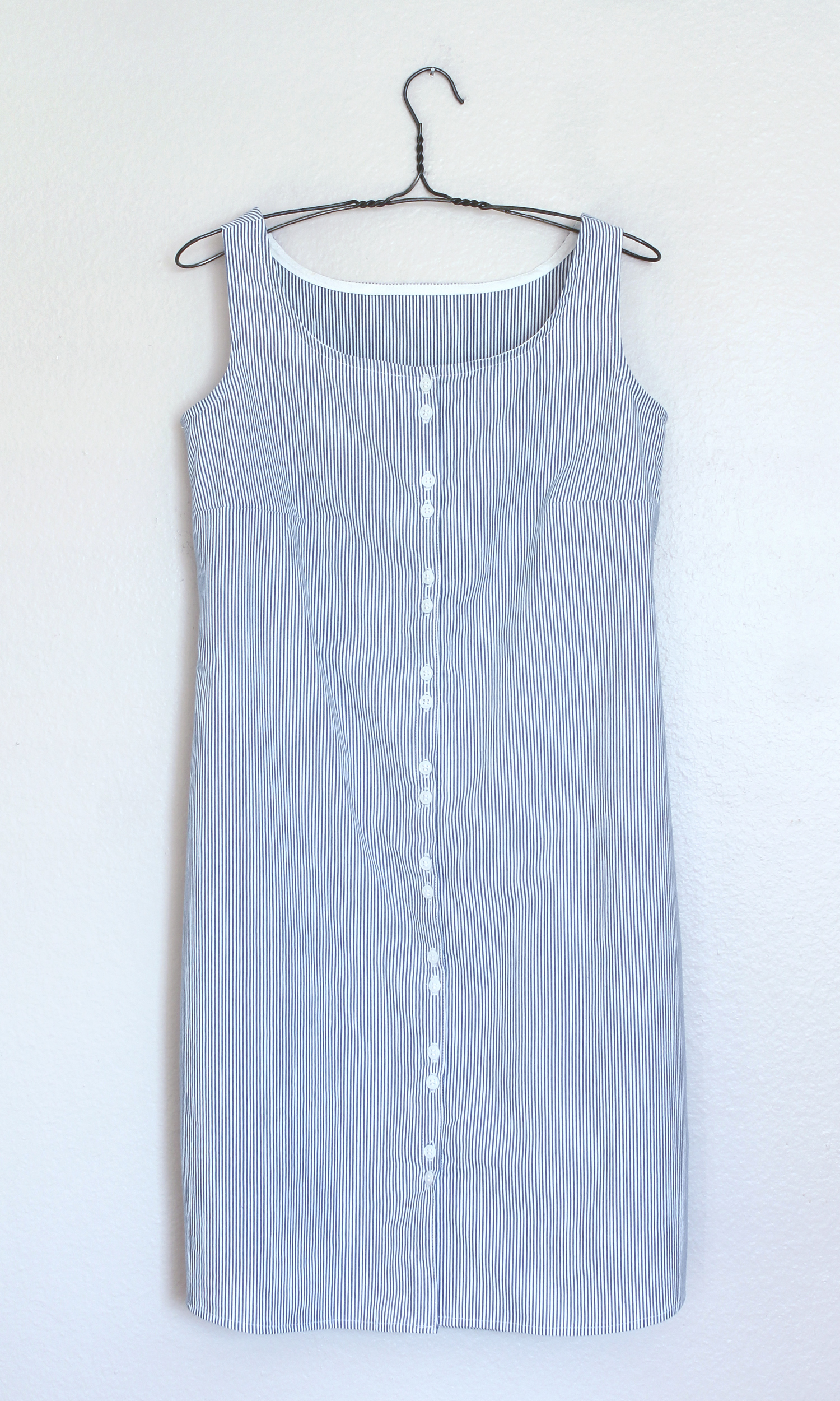 DIY Striped Shirtdress   Sew DIY