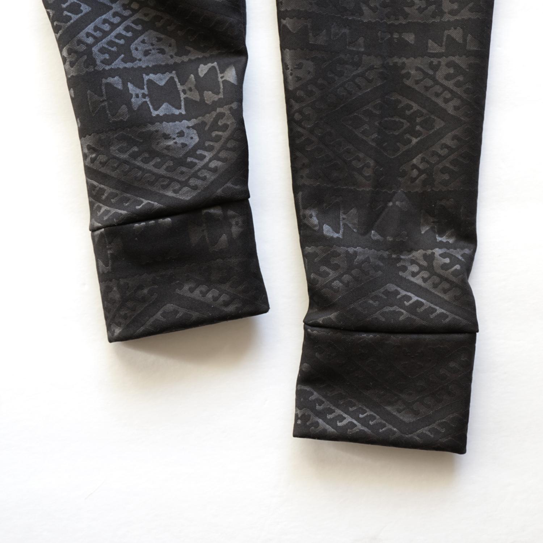 DIY Printed Leggings with Cuffs | Sew DIY