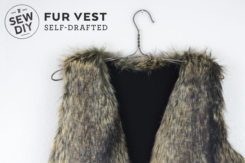 DIY Fur Vest | Sew DIY