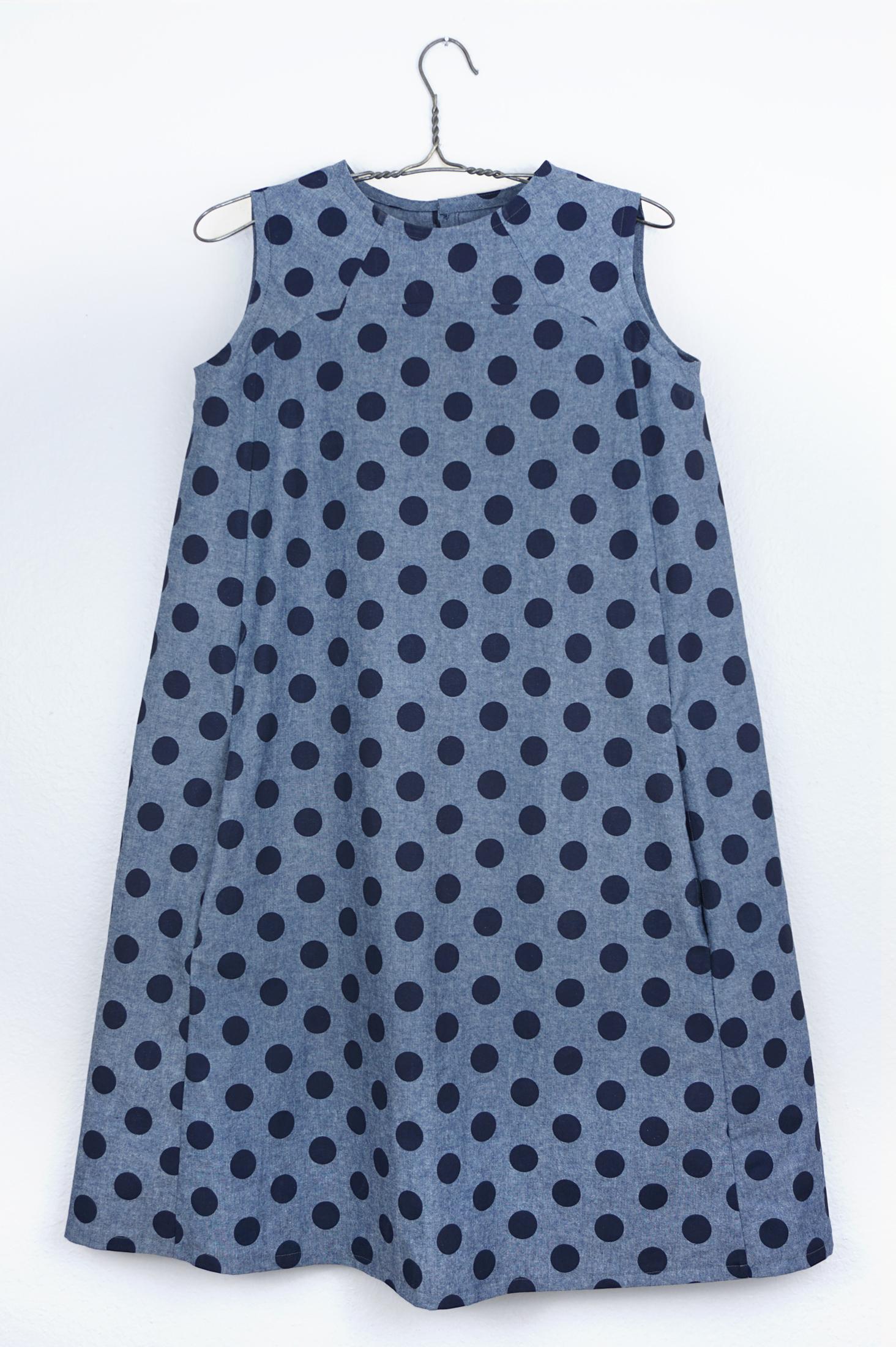 DIY Polka Dot Rushcutter Dress | Sew DIY