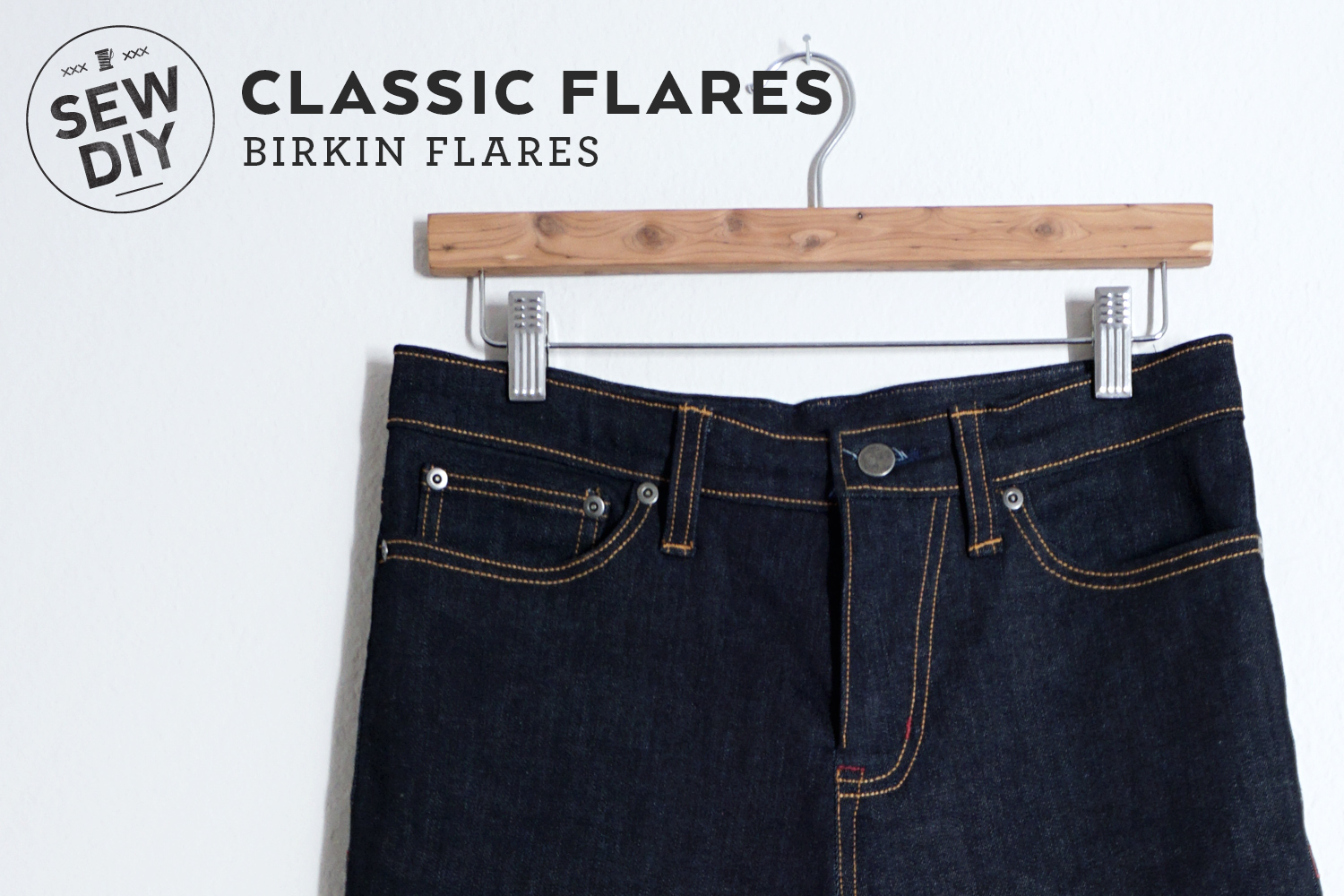 DIY Jeans with the Birkin Flares sewing pattern | Sew DIY