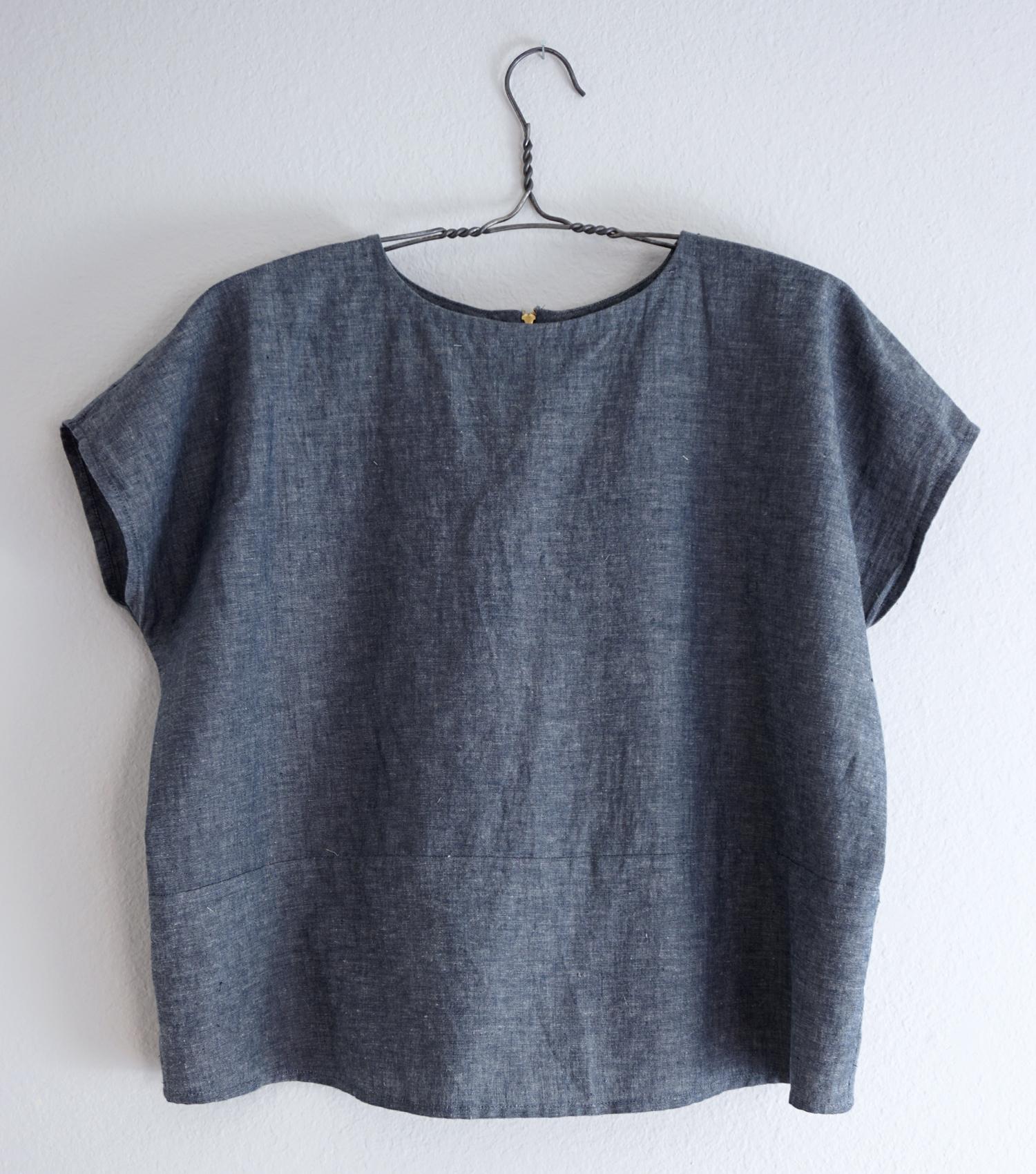 DIY Zip Back Lou Box Top Variation | Sew DIY