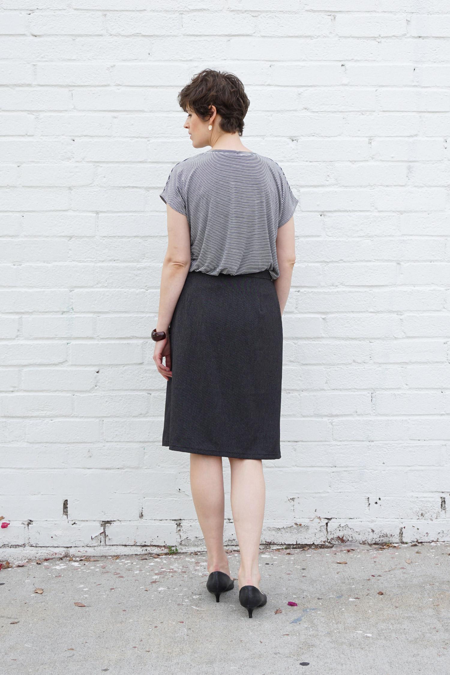 Nita Wrap Skirt PDF Pattern | Sew DIY