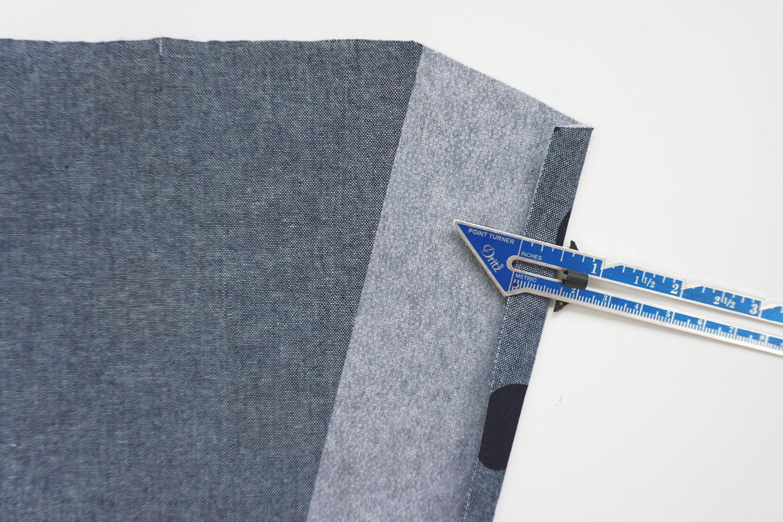 Nita Wrap Skirt Sewalong Day 3: Making the Front Facing | Sew DIY