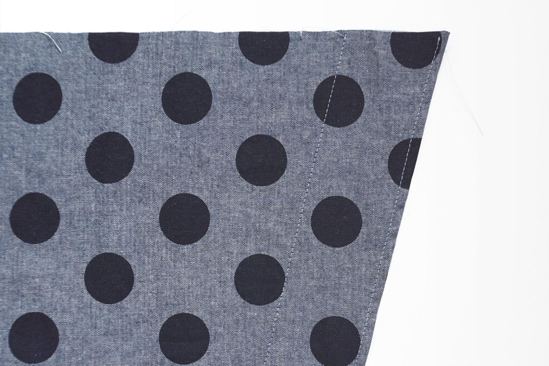 Nita Wrap Skirt Sewalong Day 3: Topstitch the Front Facing | Sew DIY