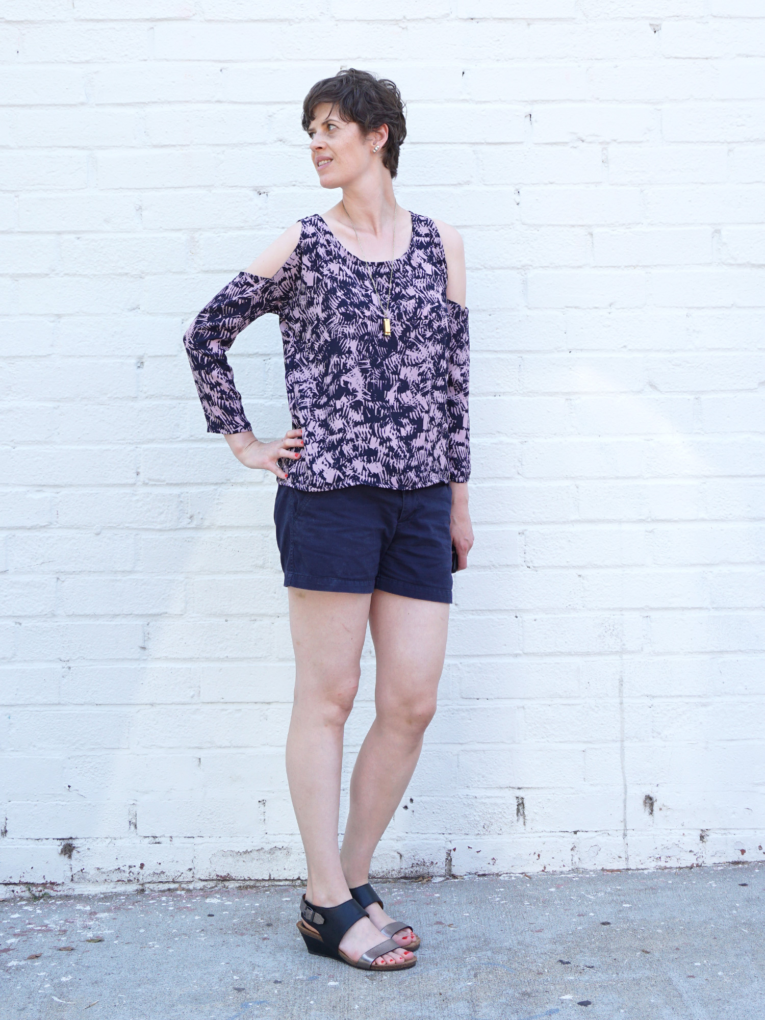 DIY Tutorial – How to Add a Shoulder Cut Out to Any Pattern
