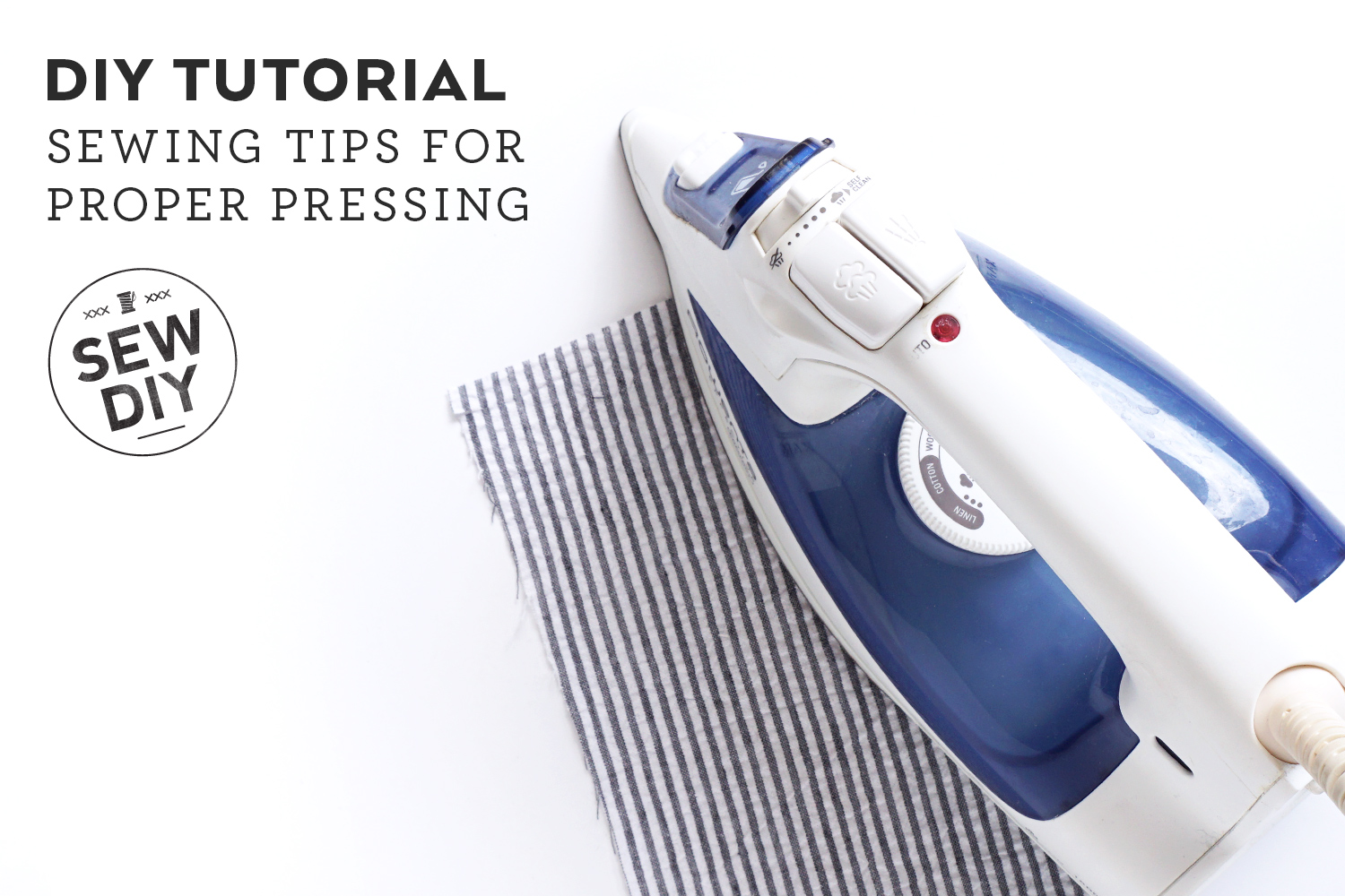 5 Sewing Tips for Better Pressing   Sew DIY