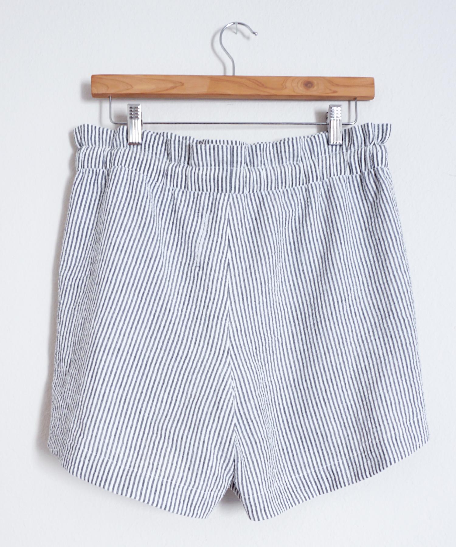 DIY Seersucker Spring Shorts | Sew DIY