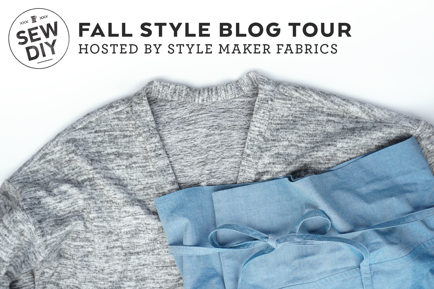 Fall Blog Tour with Style Maker Fabrics, featuring Driftless Cardigan and Nehalem Pants sewing patterns | Sew DIY