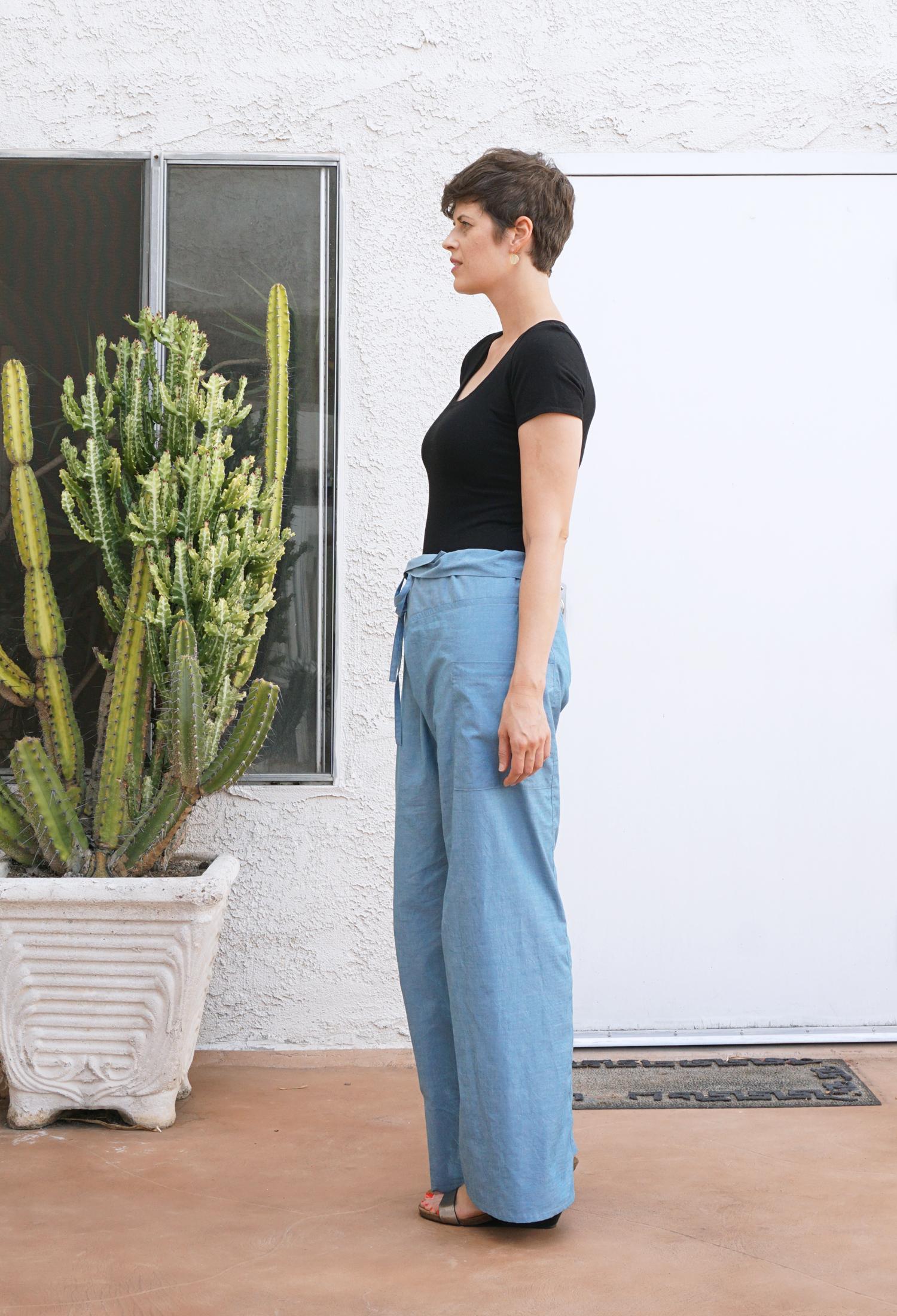 Style Maker Fabrics Fall Blog Tour - Nehalem Pants | Sew DIY