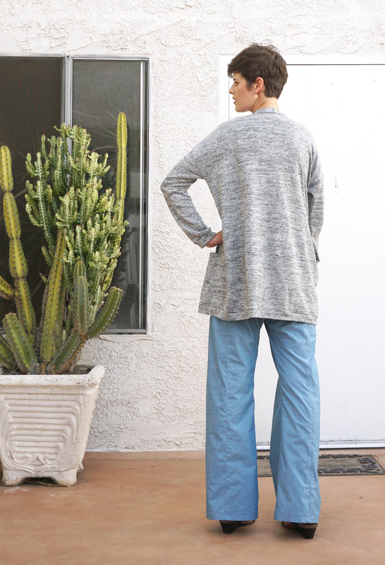 Style Maker Fabrics Fall Tour - Driftless Cardigan | Sew DIY