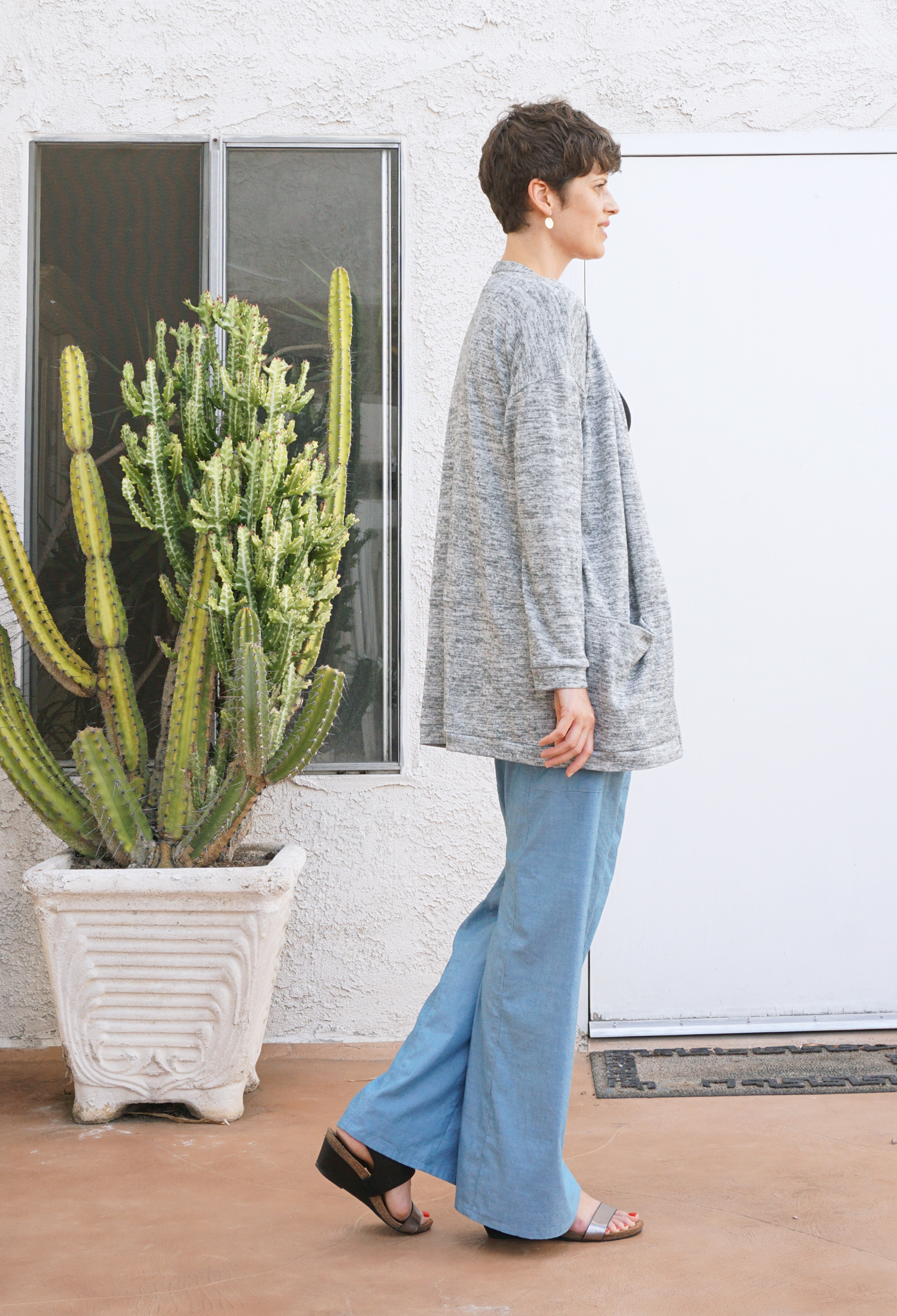Style Maker Fabrics Fall Tour - Driftless Cardigan and Nehalem Pants | Sew DIY