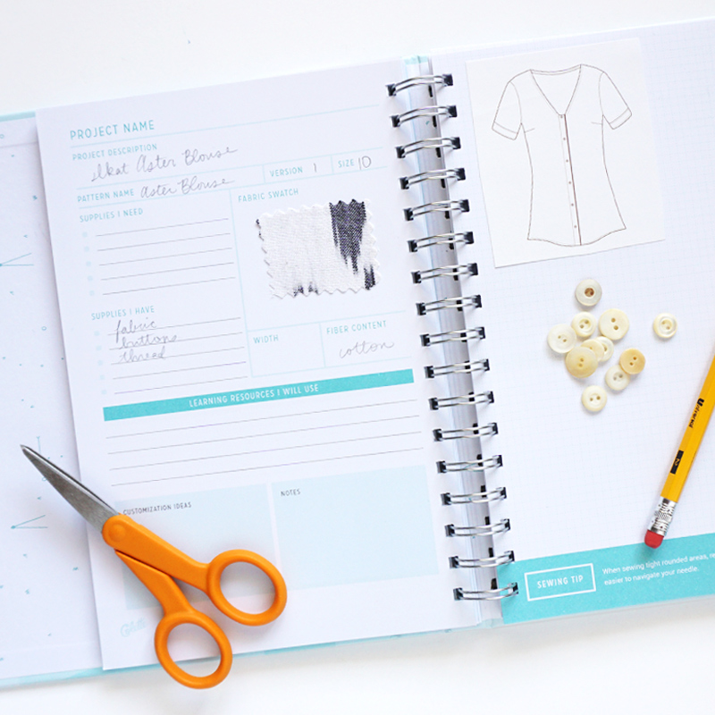 Colette Sewing Planner | Sew DIY