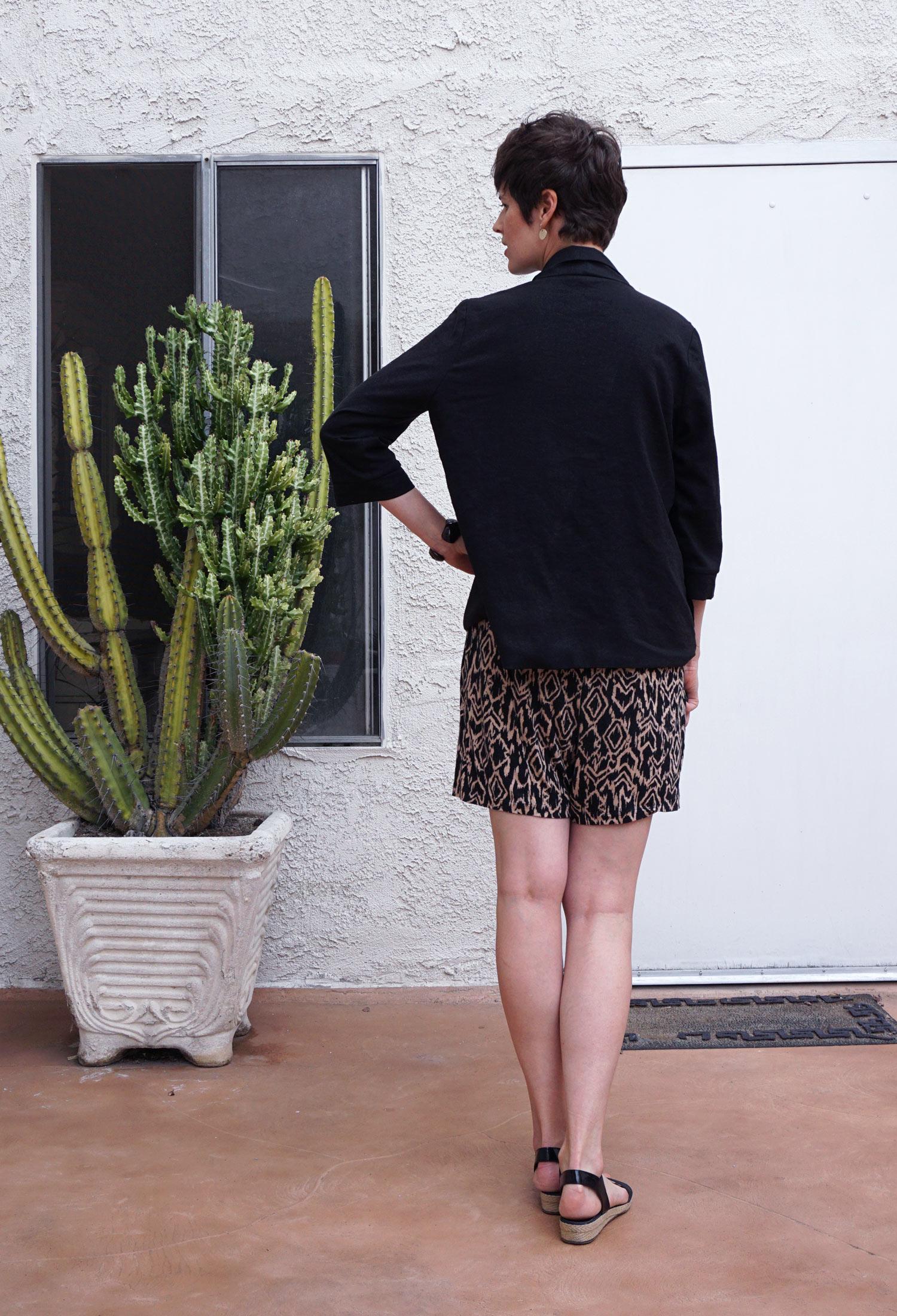 DIY Black Linen Victoria Blazer | Sew DIY