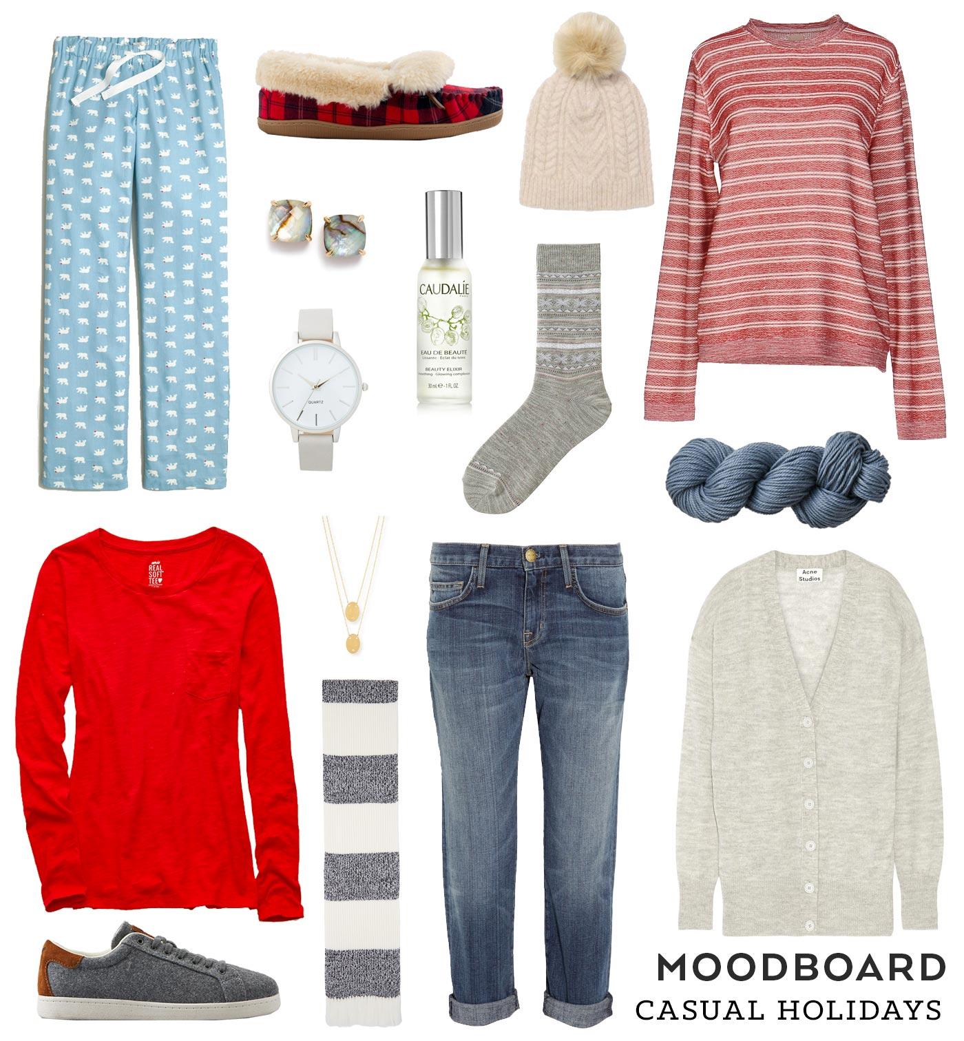 Moodboard –Casual Holidays   Sew DIY