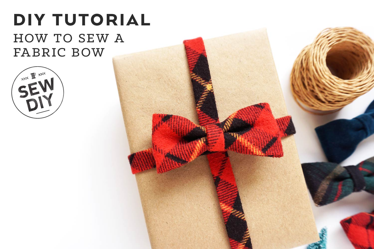How to Sew a Fabric Bow Tutorial | Sew DIY