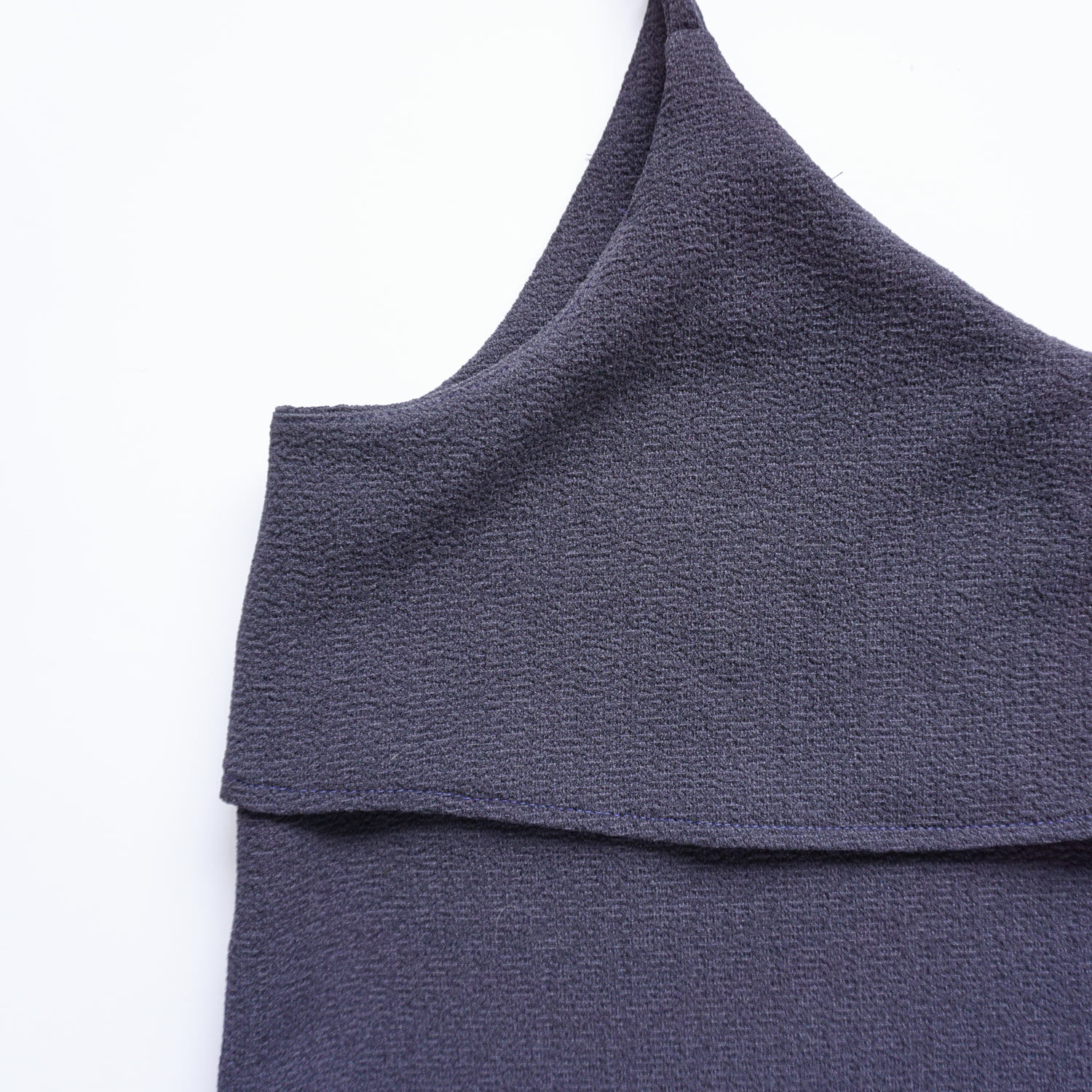 DIY Navy Camisole, a review of the Ogden Cami sewing pattern by True Bias | Sew DIY