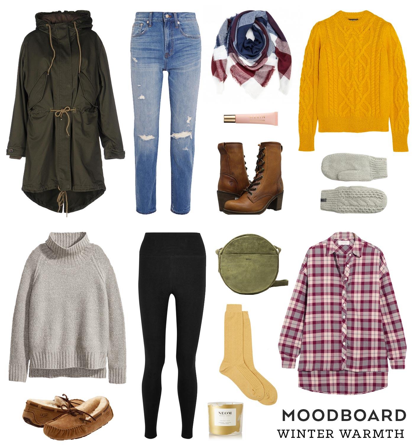 Moodboard –Winter Warmth | Sew DIY