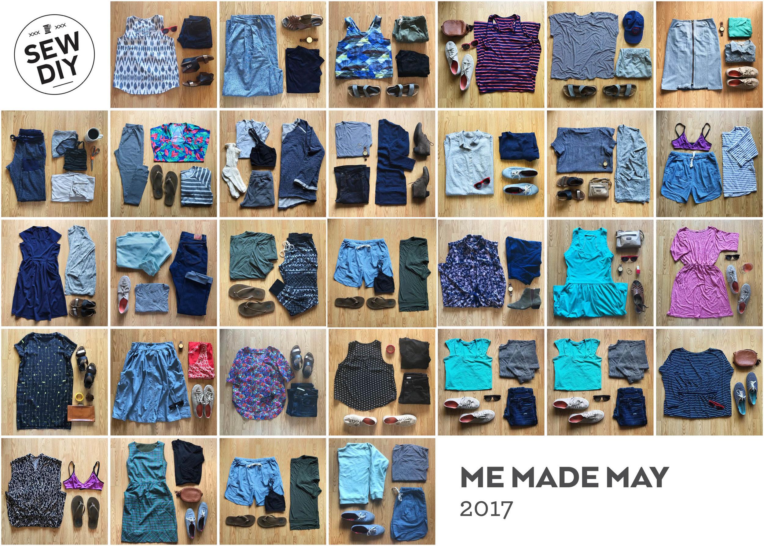 Me Made May 2017 Recap | Sew DIY