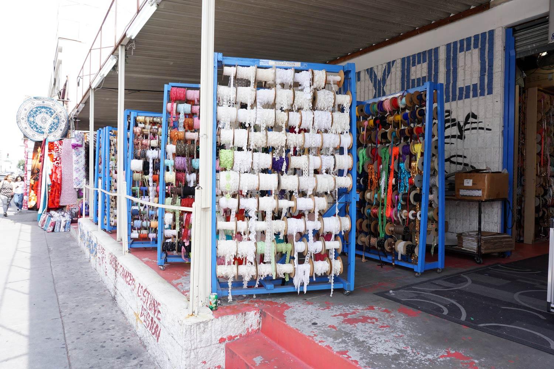 Button & Trim Expo, LA Fabric District