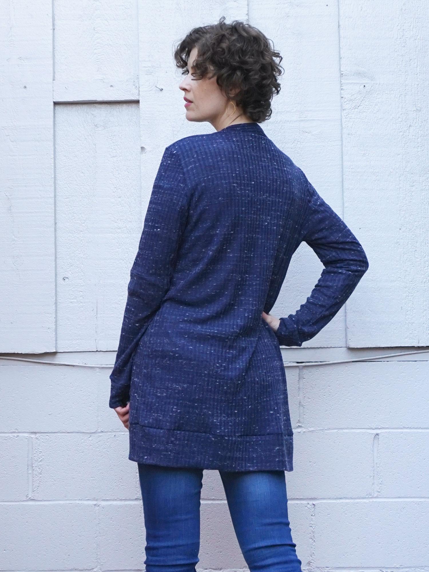 DIY Layering Cardigan – The Blackwood Cardigan by Helen's Closet | Sew DIY