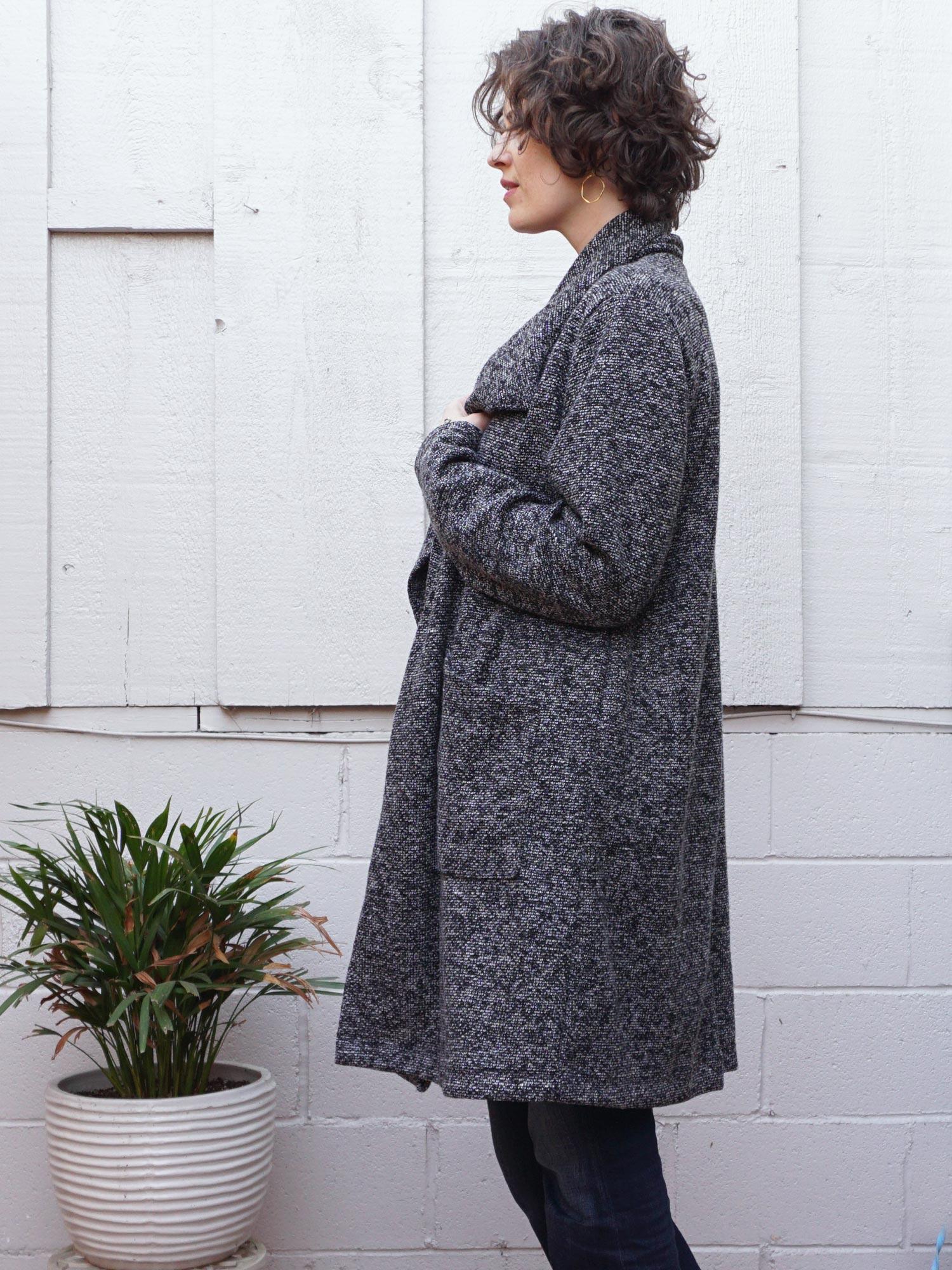 DIY Boucle Coatigan – Review of the Jill Coat by Seamwork