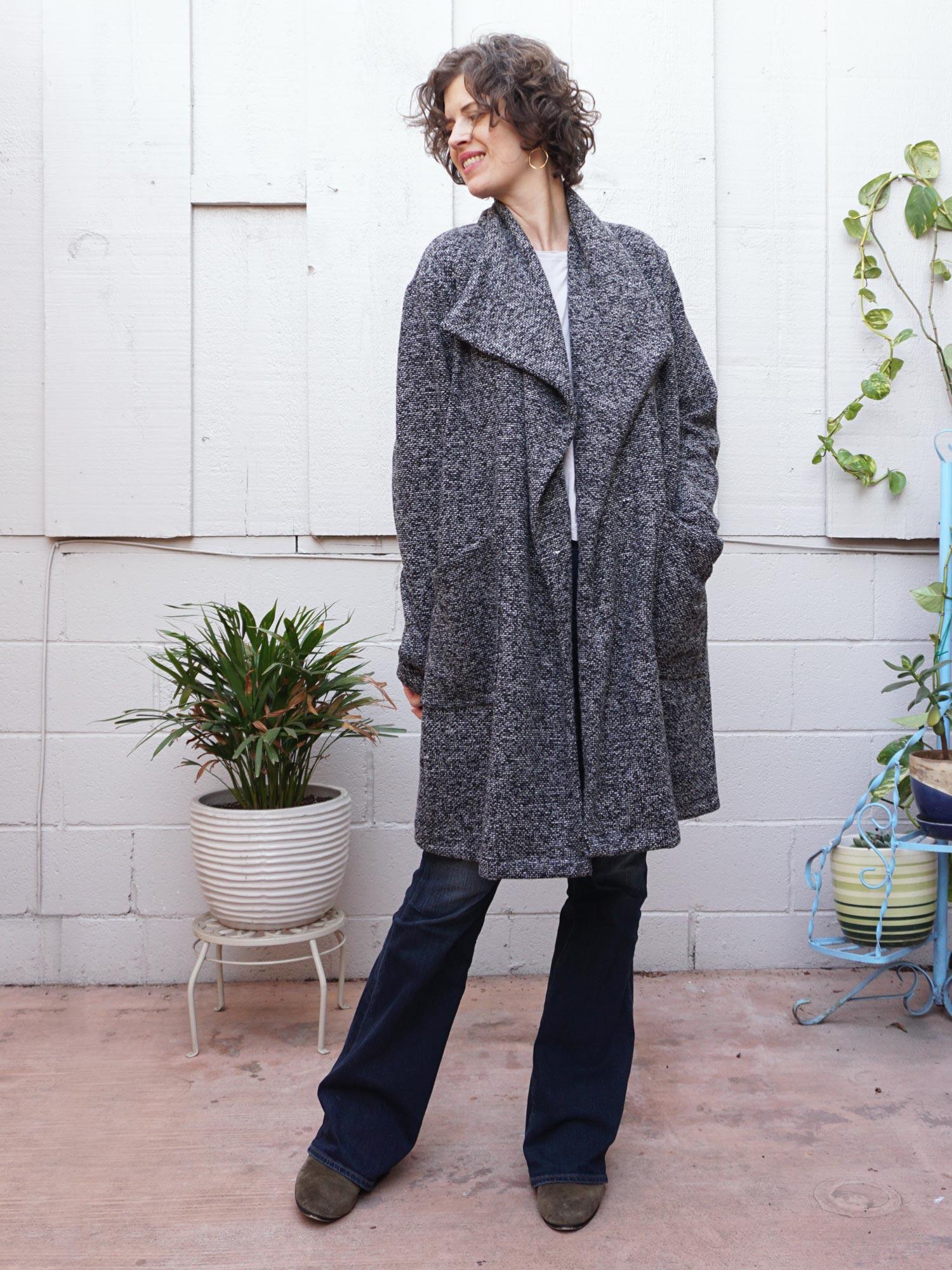 DIY Boucle Coatigan – Review of the Jill Coat by Seamwork | Sew DIY