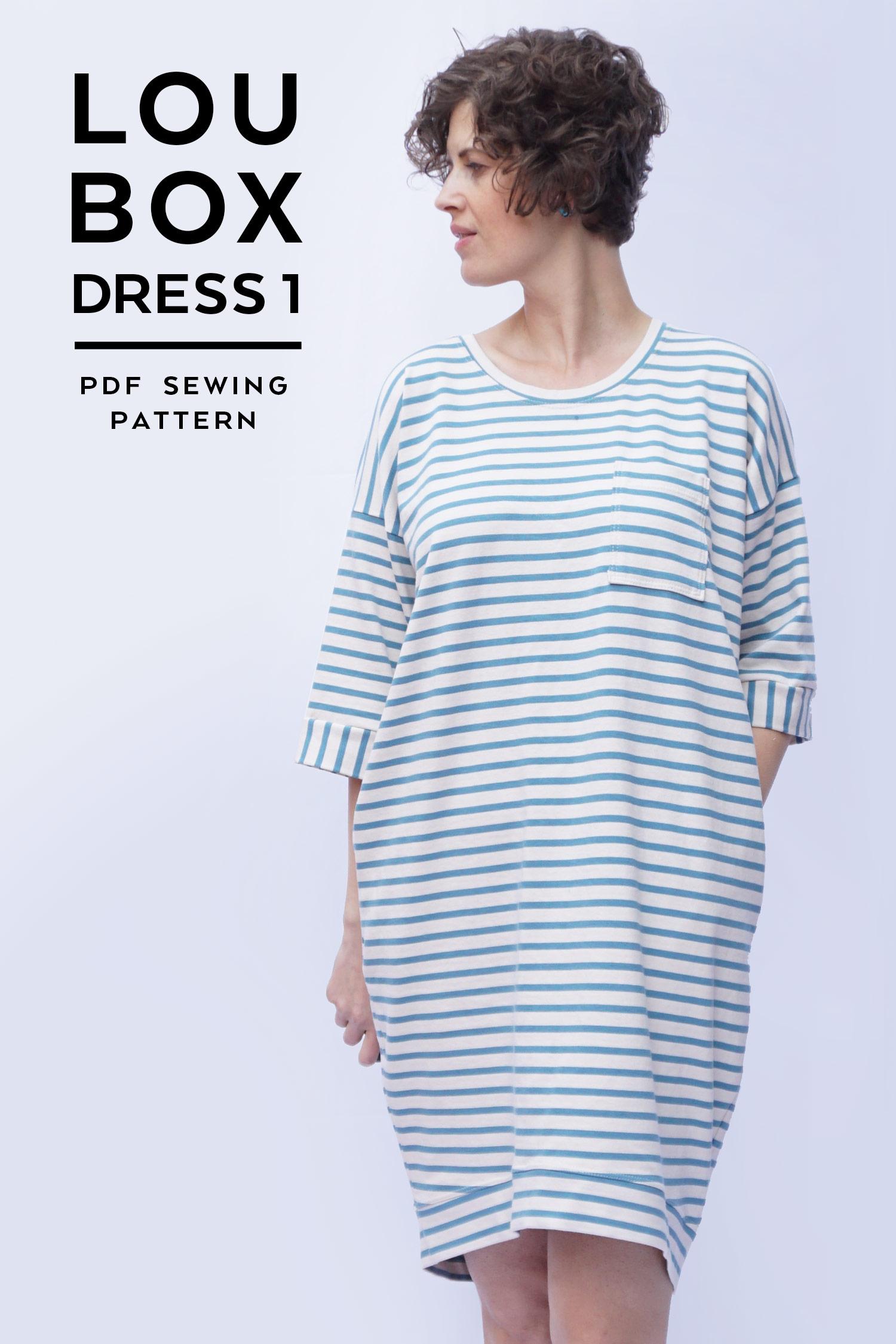 Introducing the Lou Box Dress 1   Sew DIY