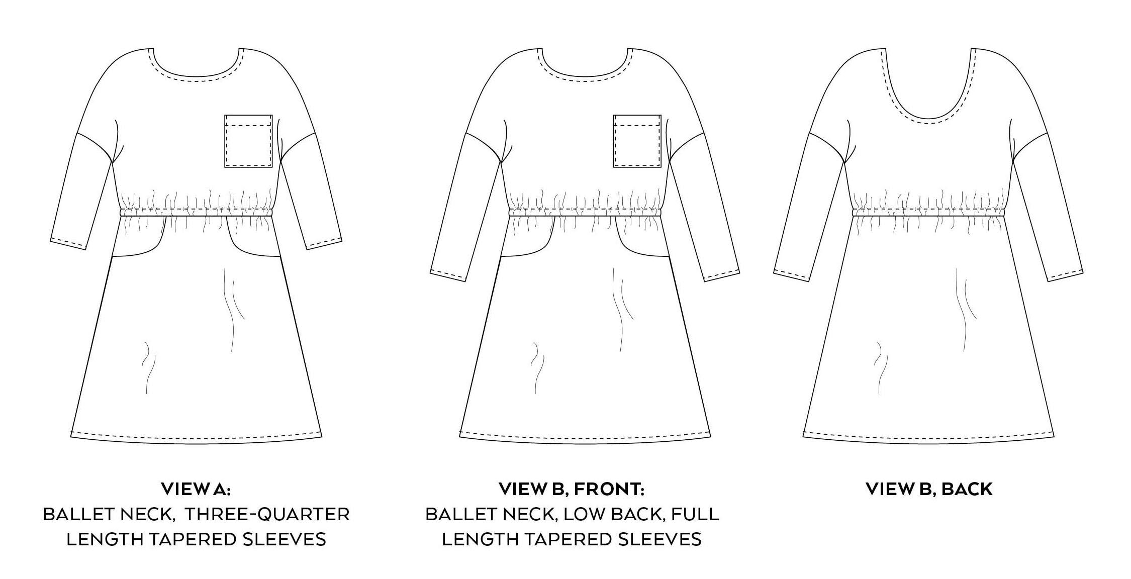 Lou Box Dress 2 All Views